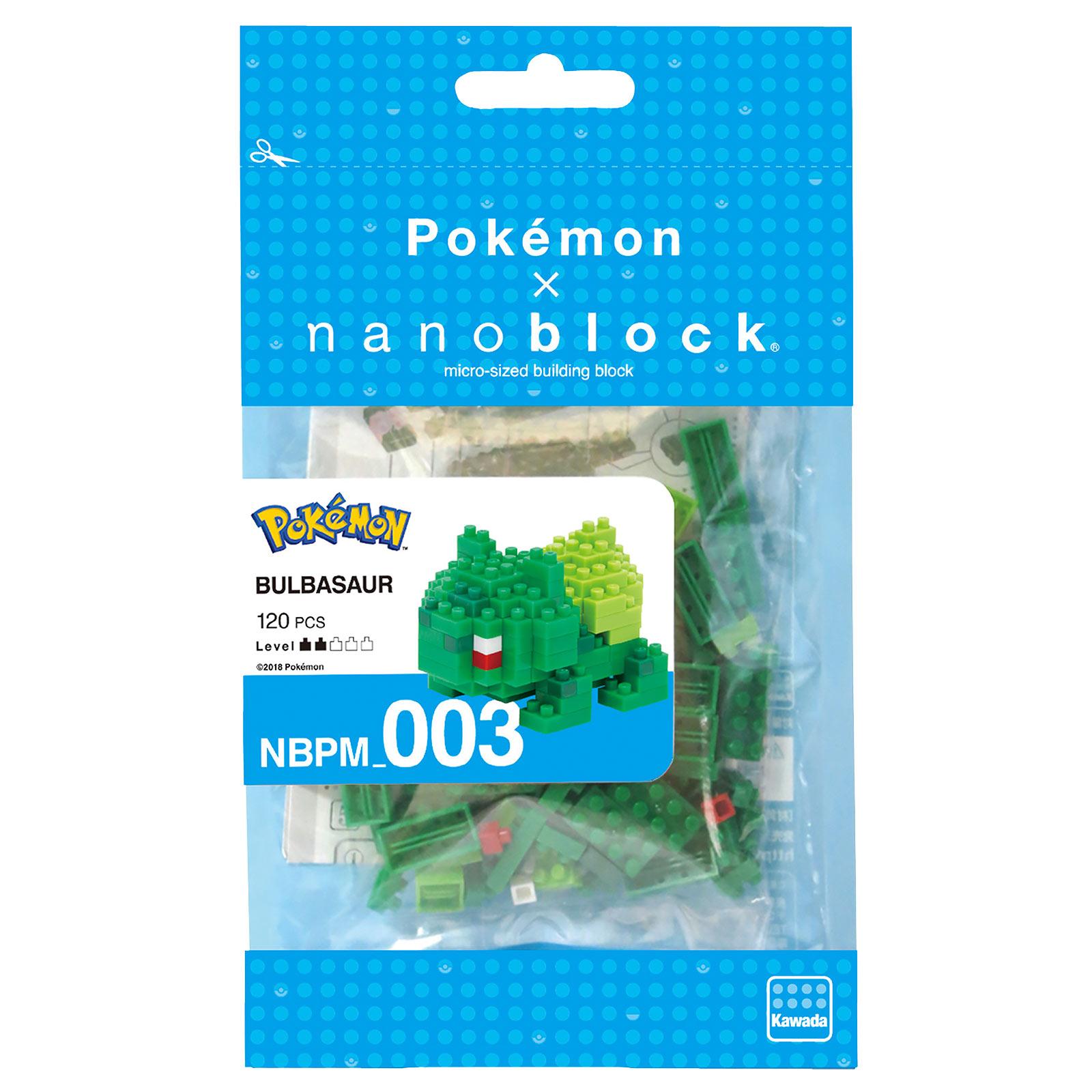 Pokemon - Bisasam nanoblock Mini Baustein Figur