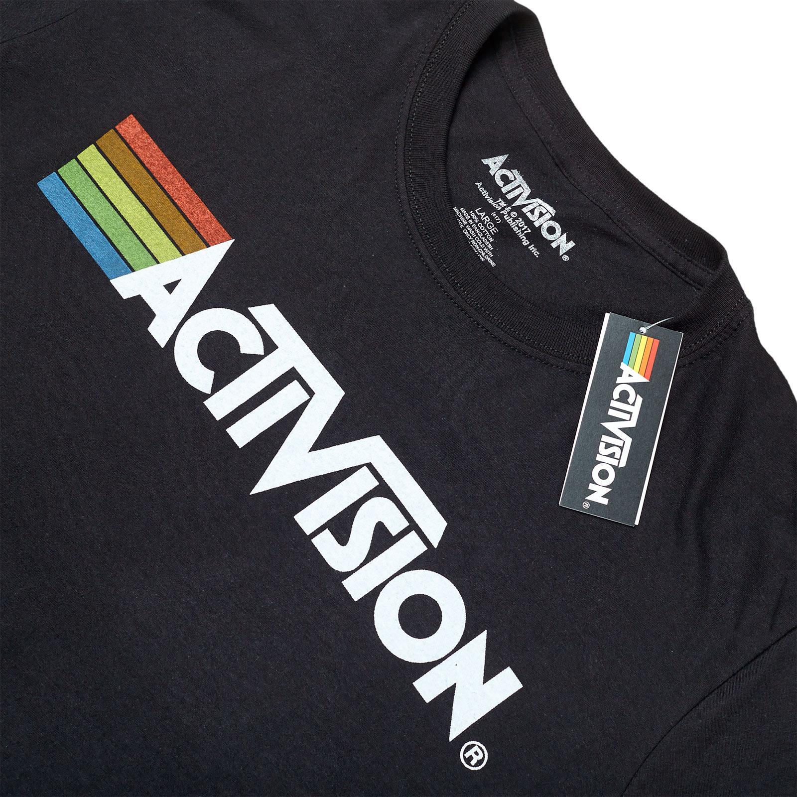 Activision - Logo T-Shirt schwarz