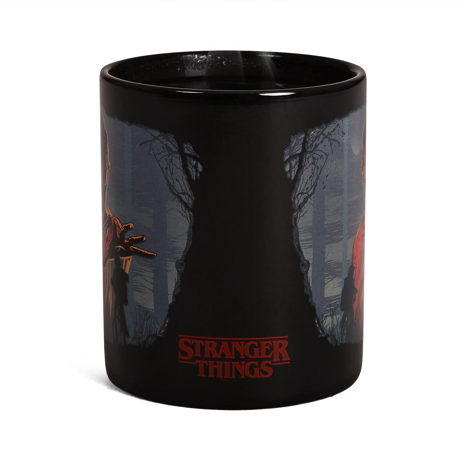 Stranger Things - Eleven Woods Thermoeffekt Tasse