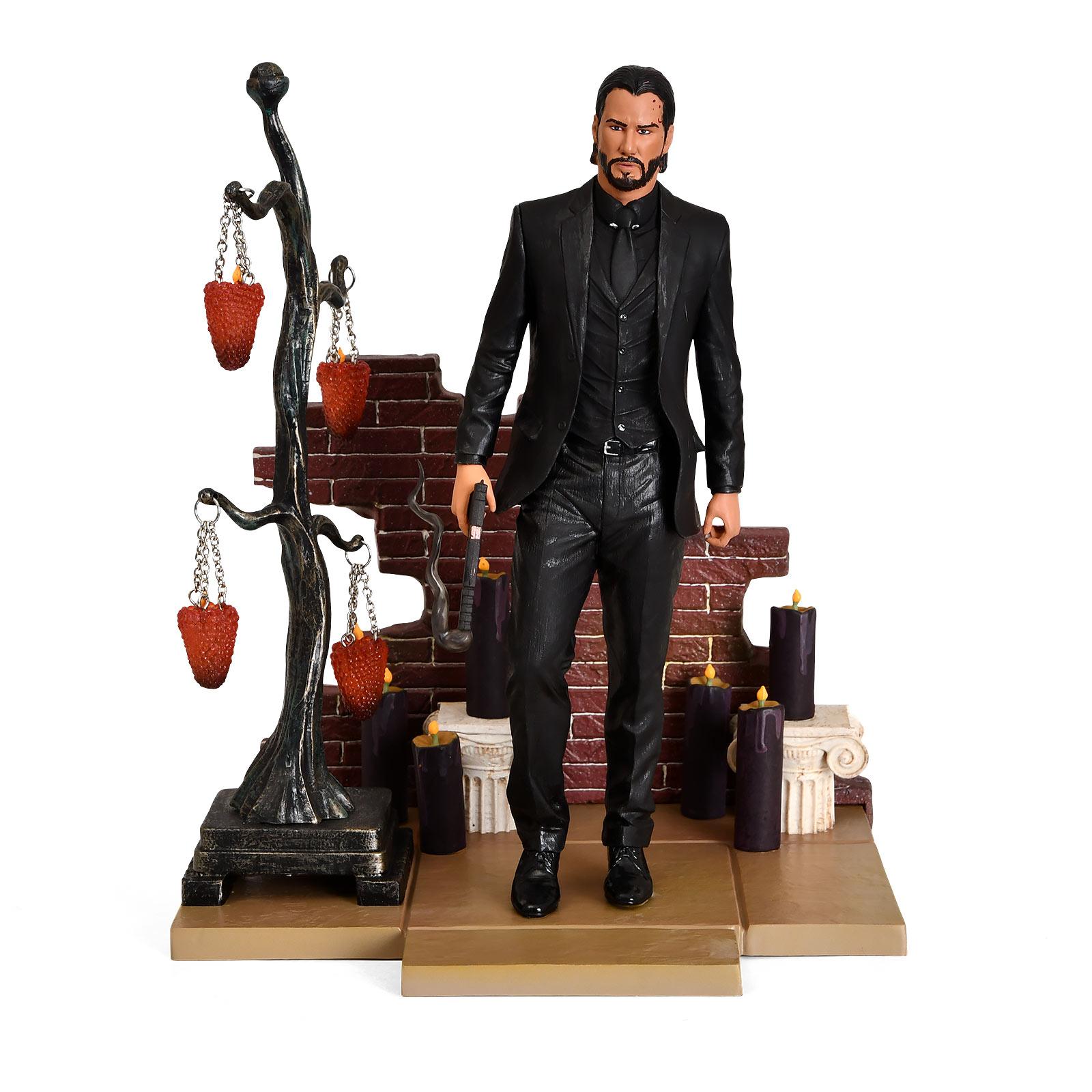 John Wick Diamonds Gallery Diorama Figur 23 cm