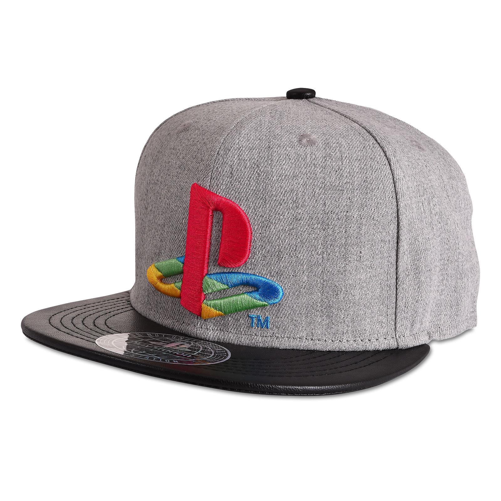 PlayStation - Logo Snapback Cap grau