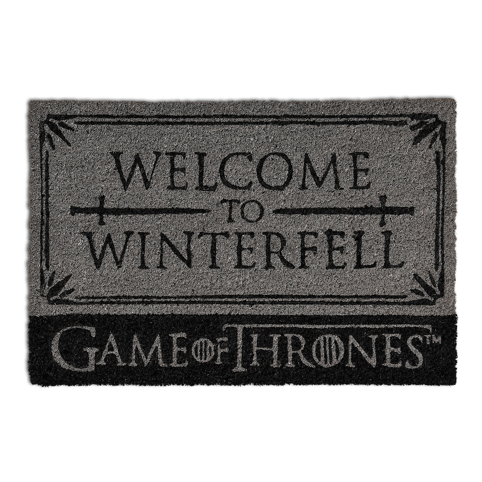 Game of Thrones - Stark Welcome to Winterfell Fußmatte