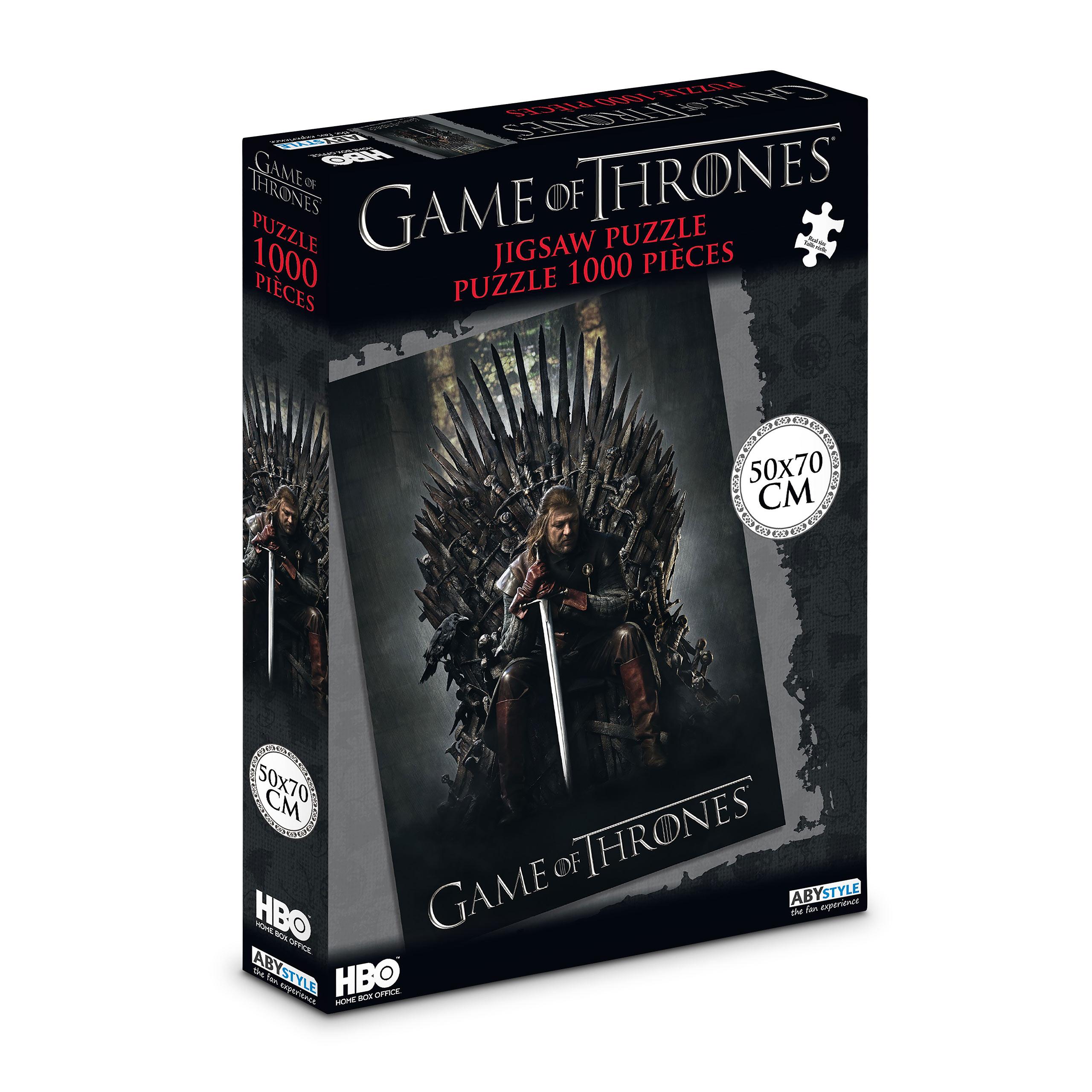 Game of Thrones - Der Eiserne Thron Puzzle 1000 Teile
