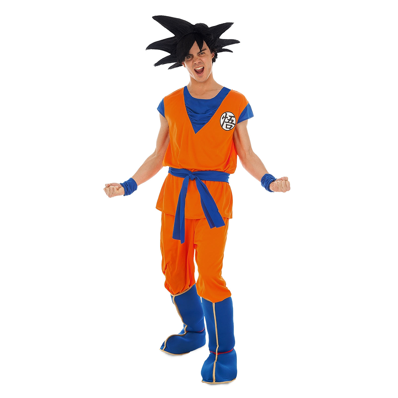 Dragon Ball - Son Goku Saiyajin Kostüm für Erwachsene