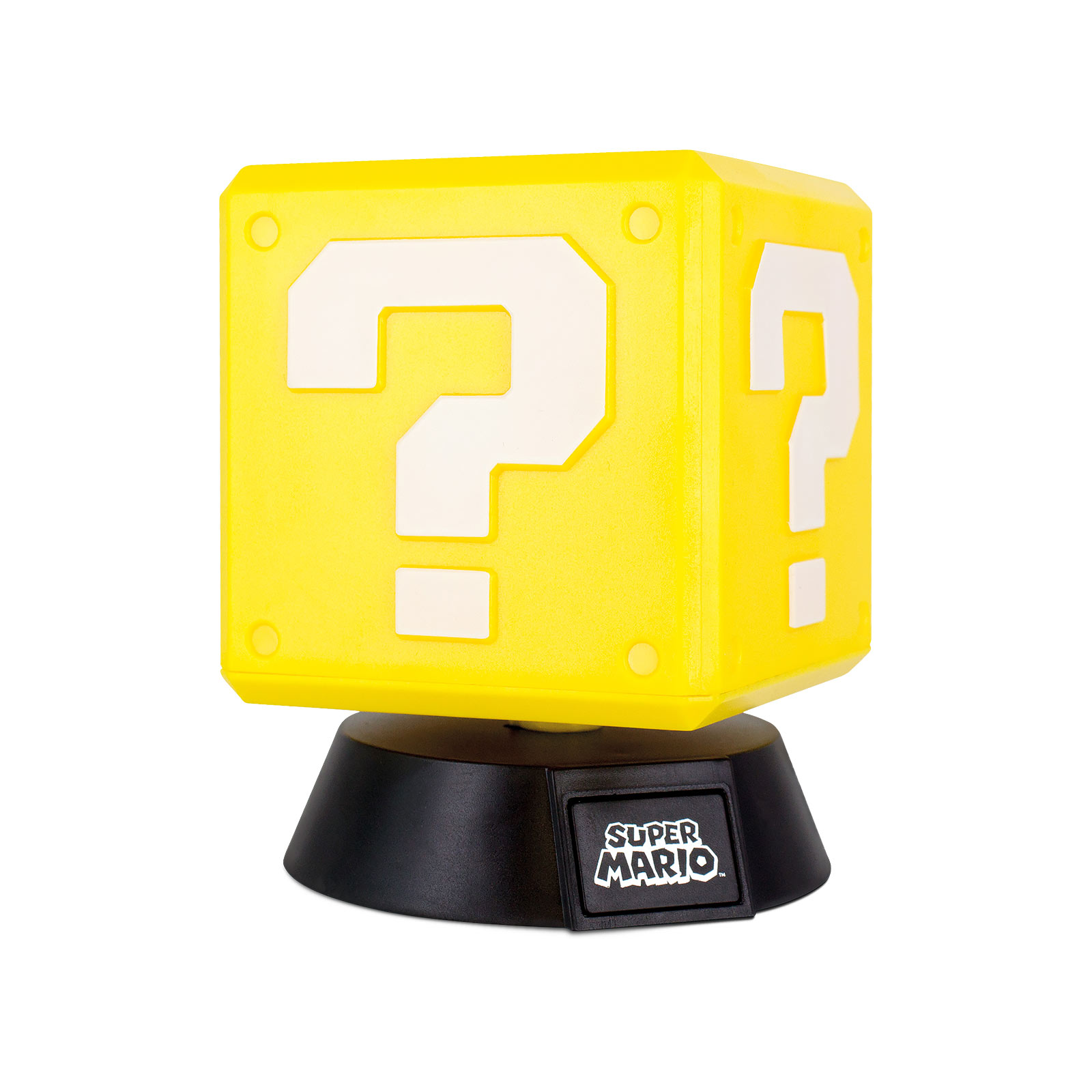 Super Mario - Fragezeichen Block 3D Tischlampe