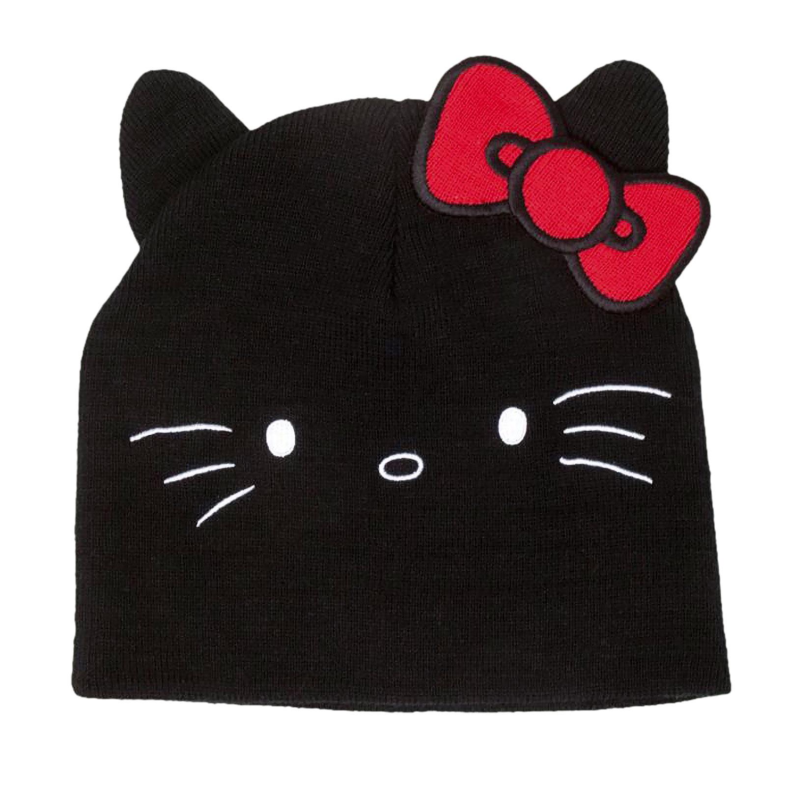 Hello Kitty Beanie mit Ohren und Schleife