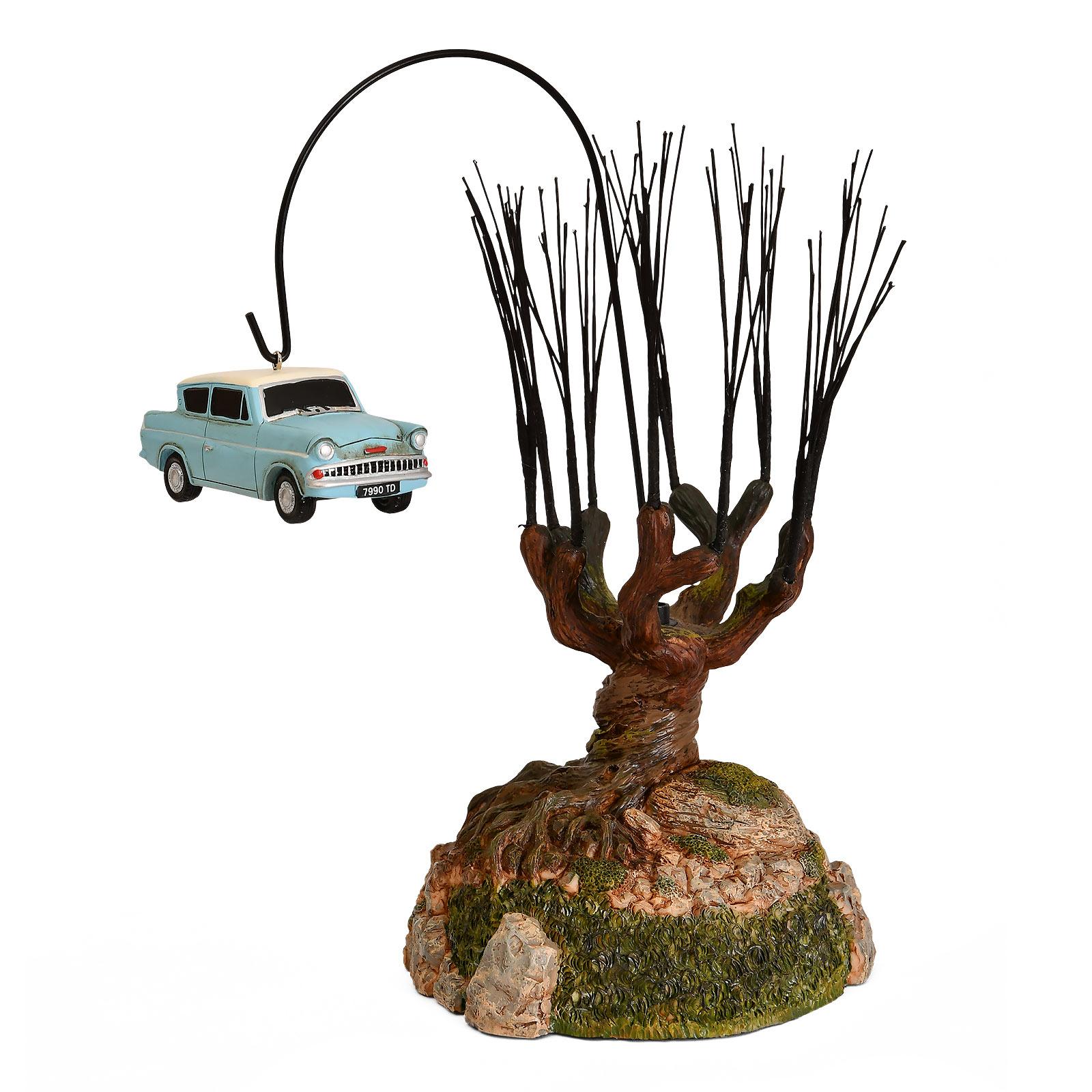 Peitschende Weide mit fliegendem Auto Miniatur Replik - Harry Potter