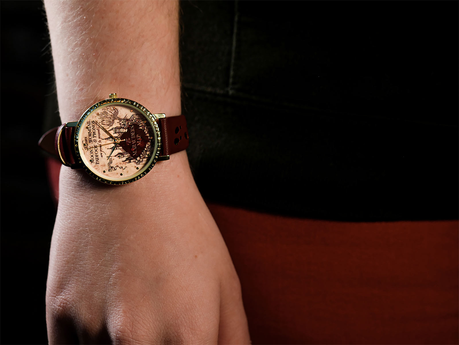 Harry Potter - Karte des Rumtreibers Armbanduhr