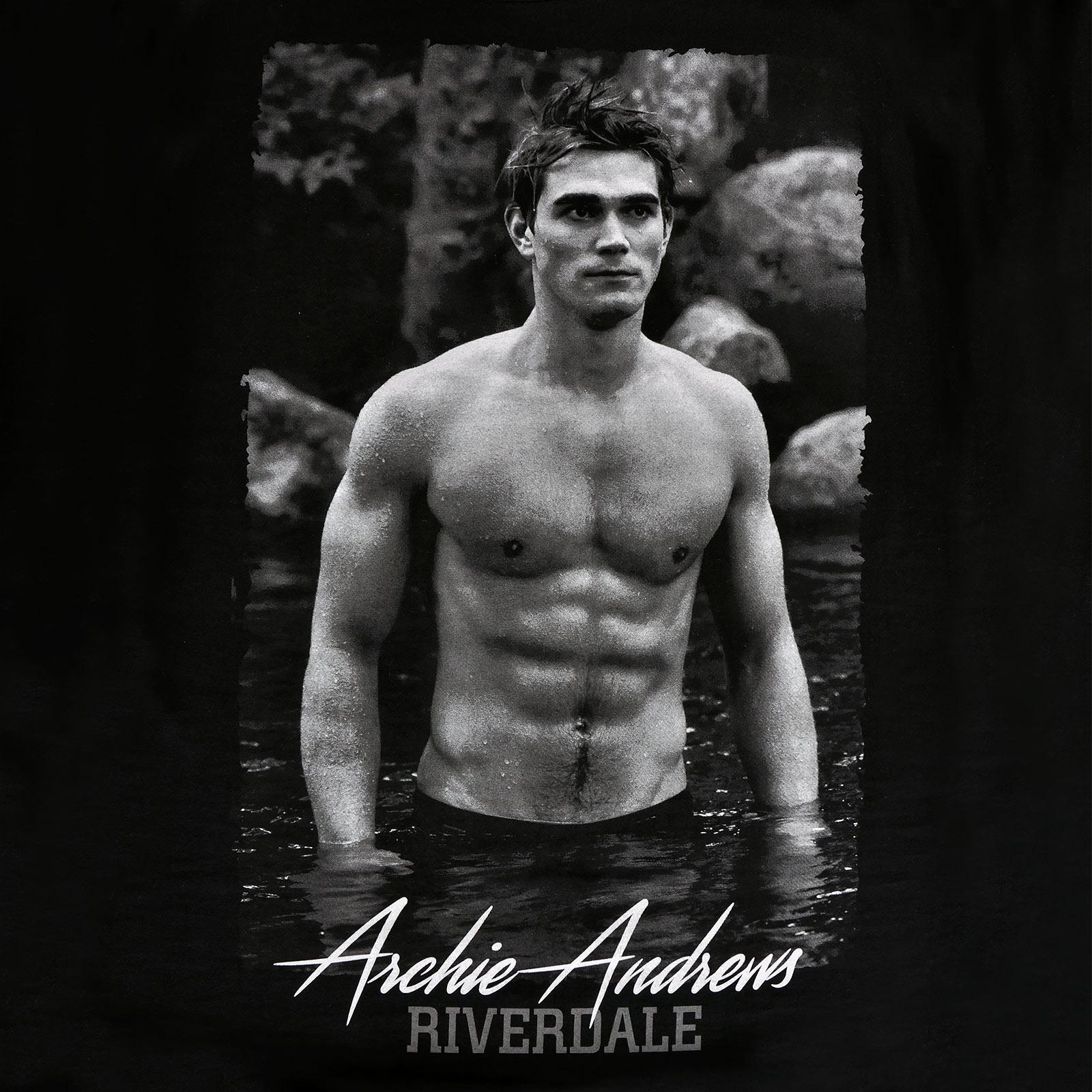 Riverdale - Archie Andrews T-Shirt Damen schwarz