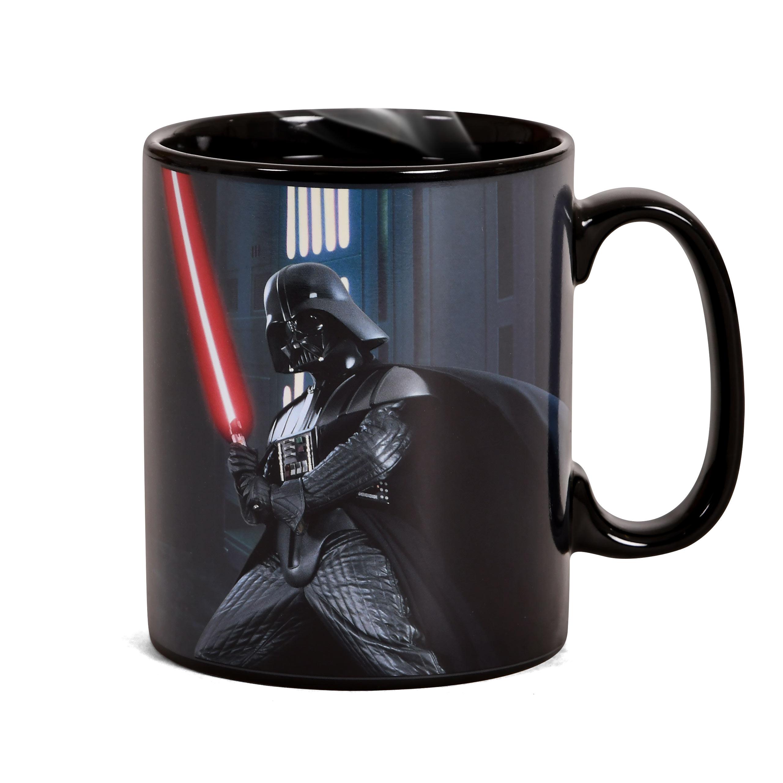 Star Wars - Darth Vader Thermoeffekt Tasse