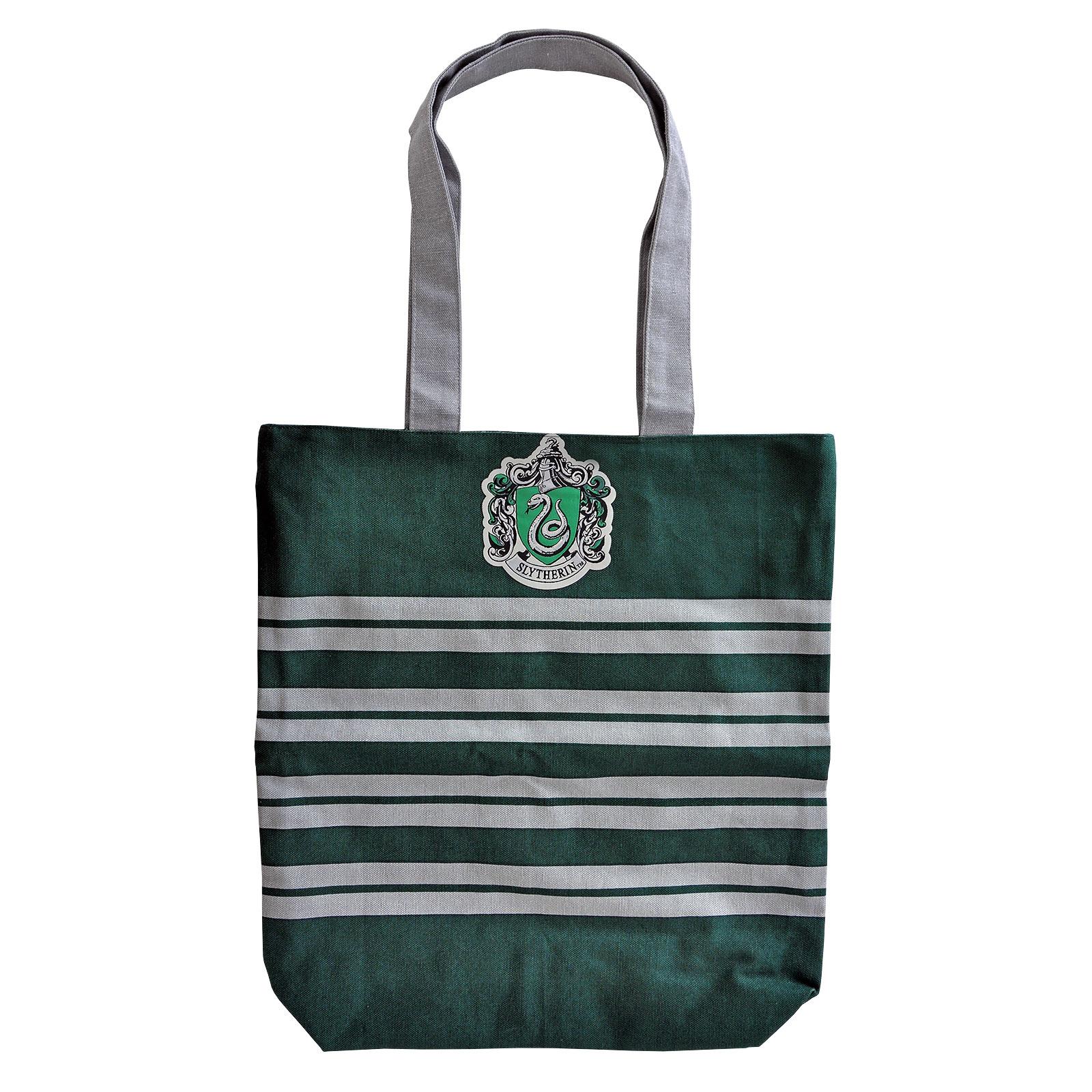Harry Potter - Slytherin Shopper Tasche zum Wenden