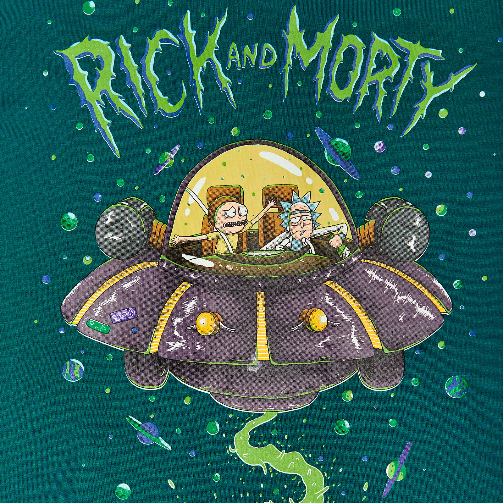 Rick and Morty - Space Cruiser College Jacke Damen