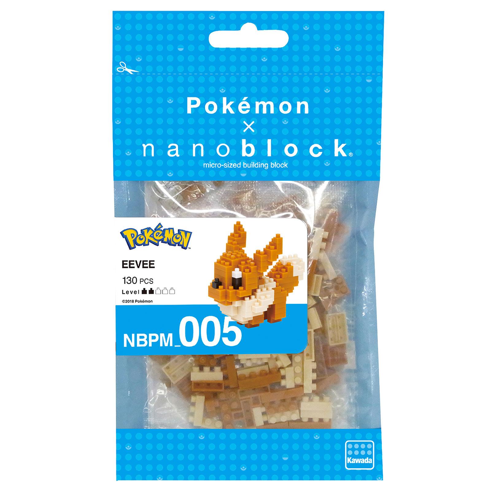 Pokemon - Evoli nanoblock Mini Baustein Figur