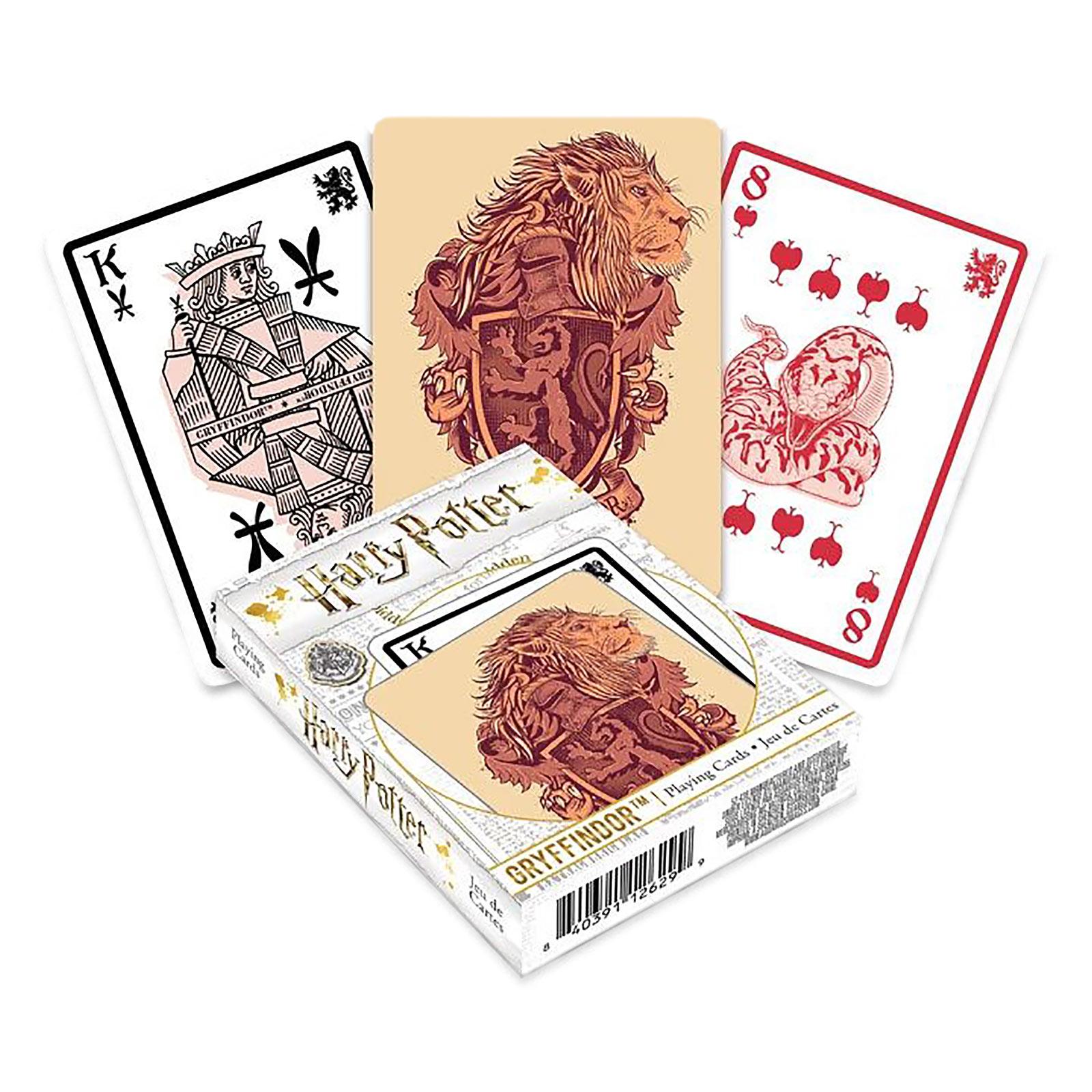 Harry Potter - Gryffindor Kartenspiel
