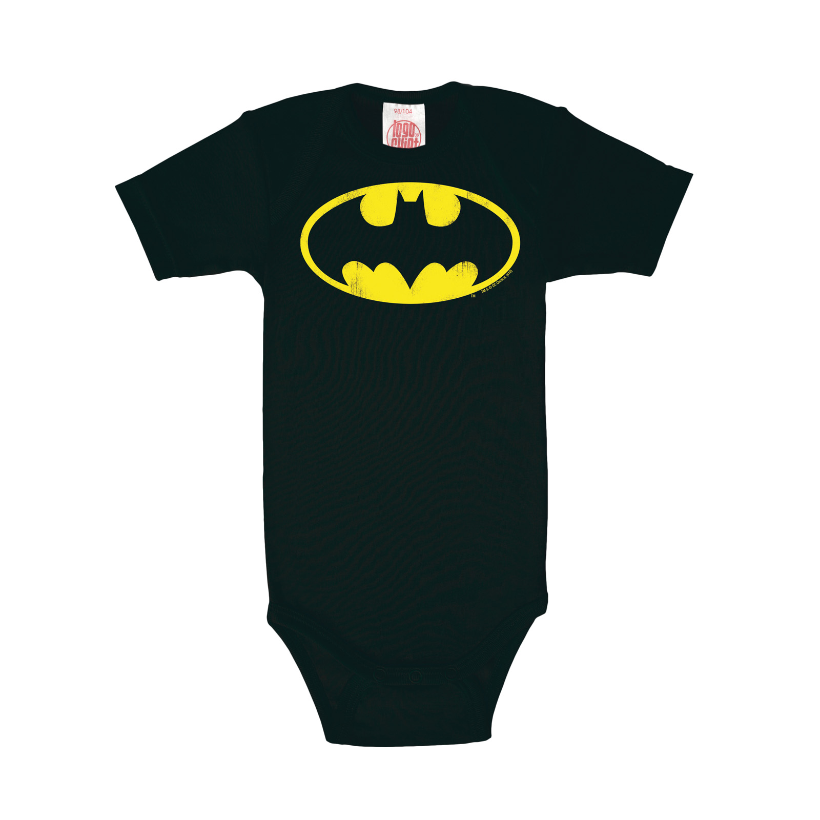 Batman - Logo Baby Body schwarz