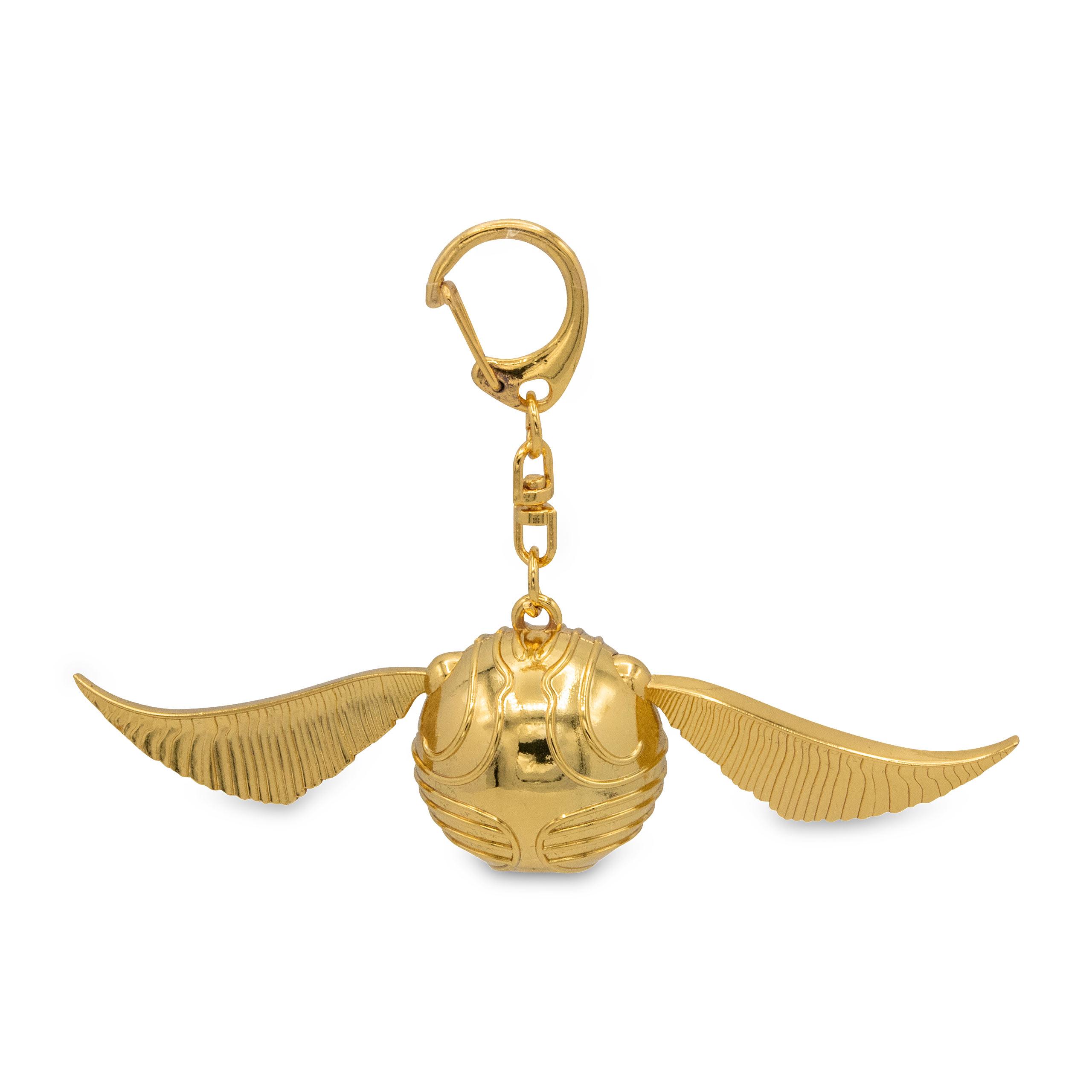 Harry Potter - Goldener Schnatz Schlüsselanhänger in Geschenkbox