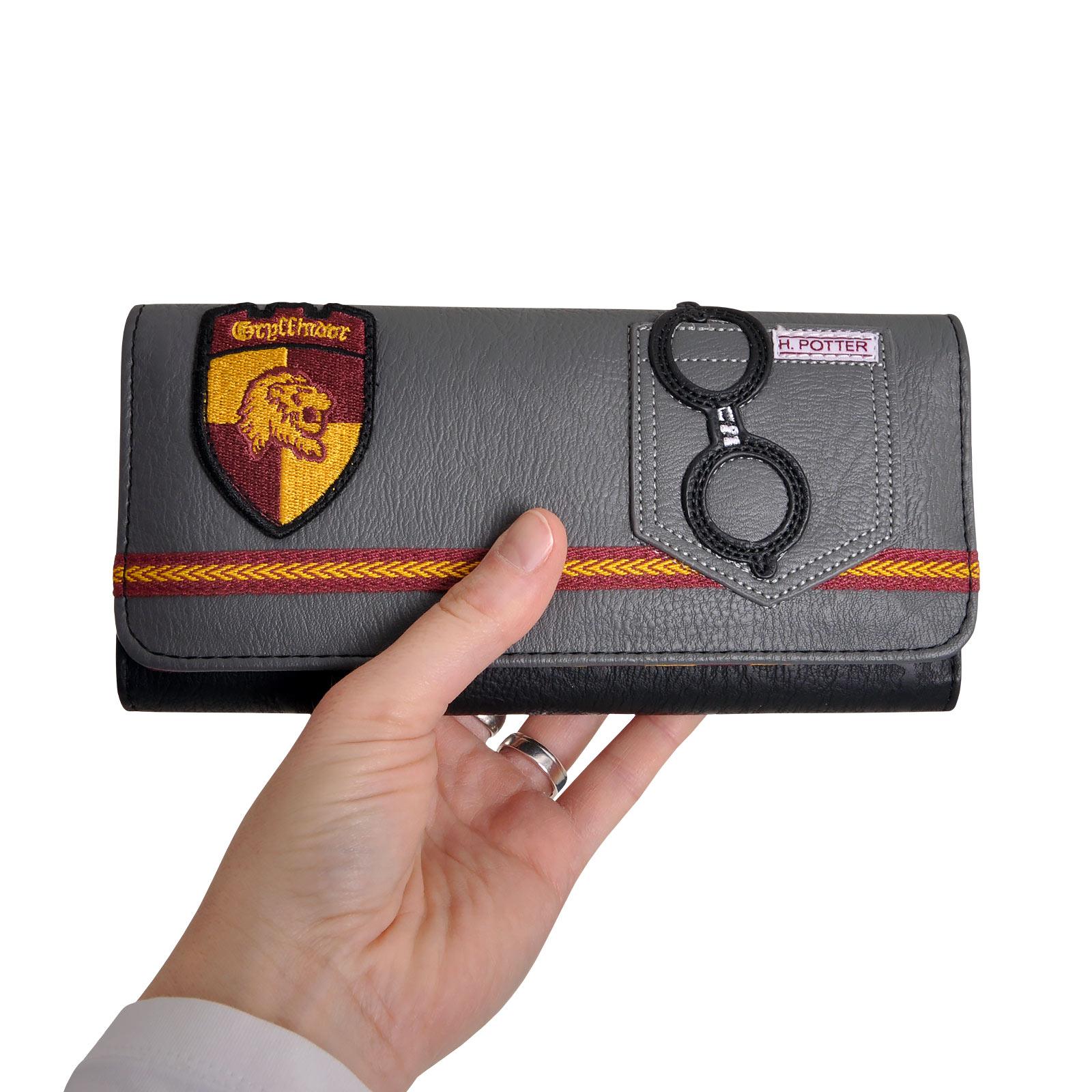 Harry Potter - Gryffindor Geldbörse grau