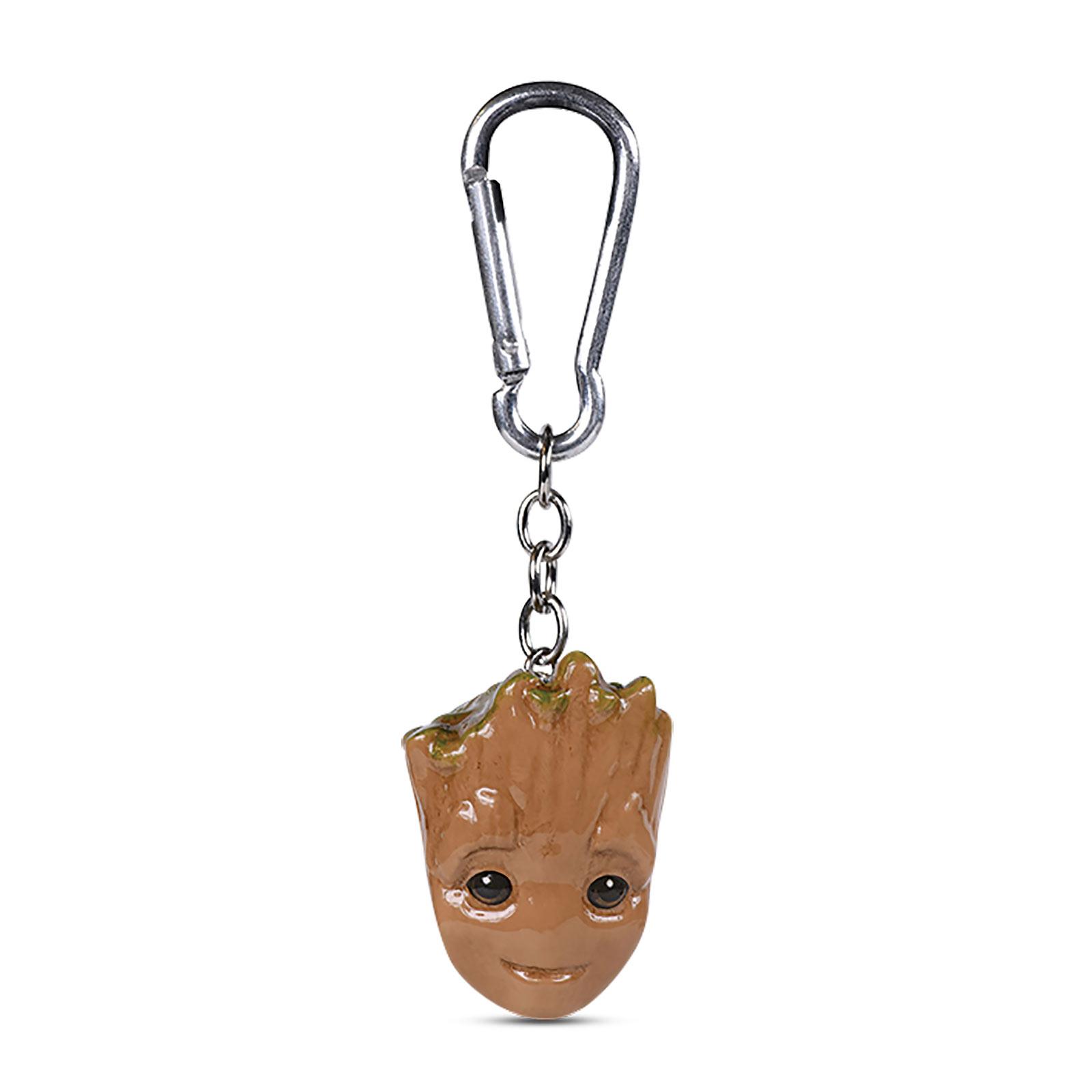 Guardians of the Galaxy - Baby Groot 3D Schlüsselanhänger