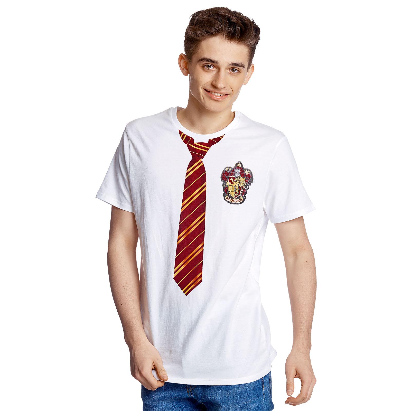 Harry Potter - Gryffindor Lookalike T-Shirt weiß