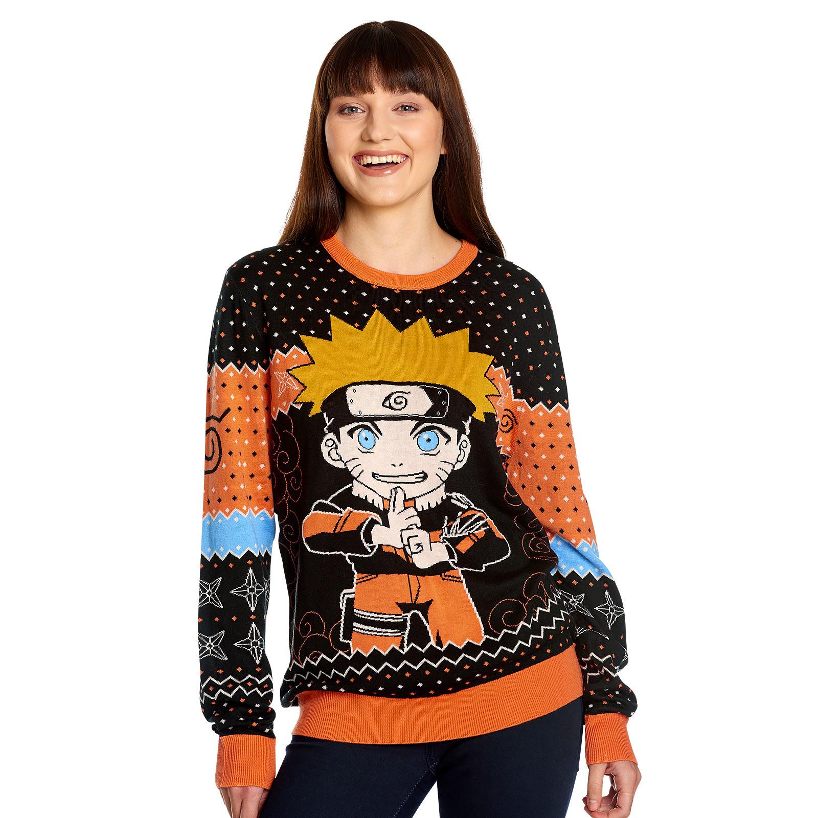 Naruto Uzumaki Strickpullover