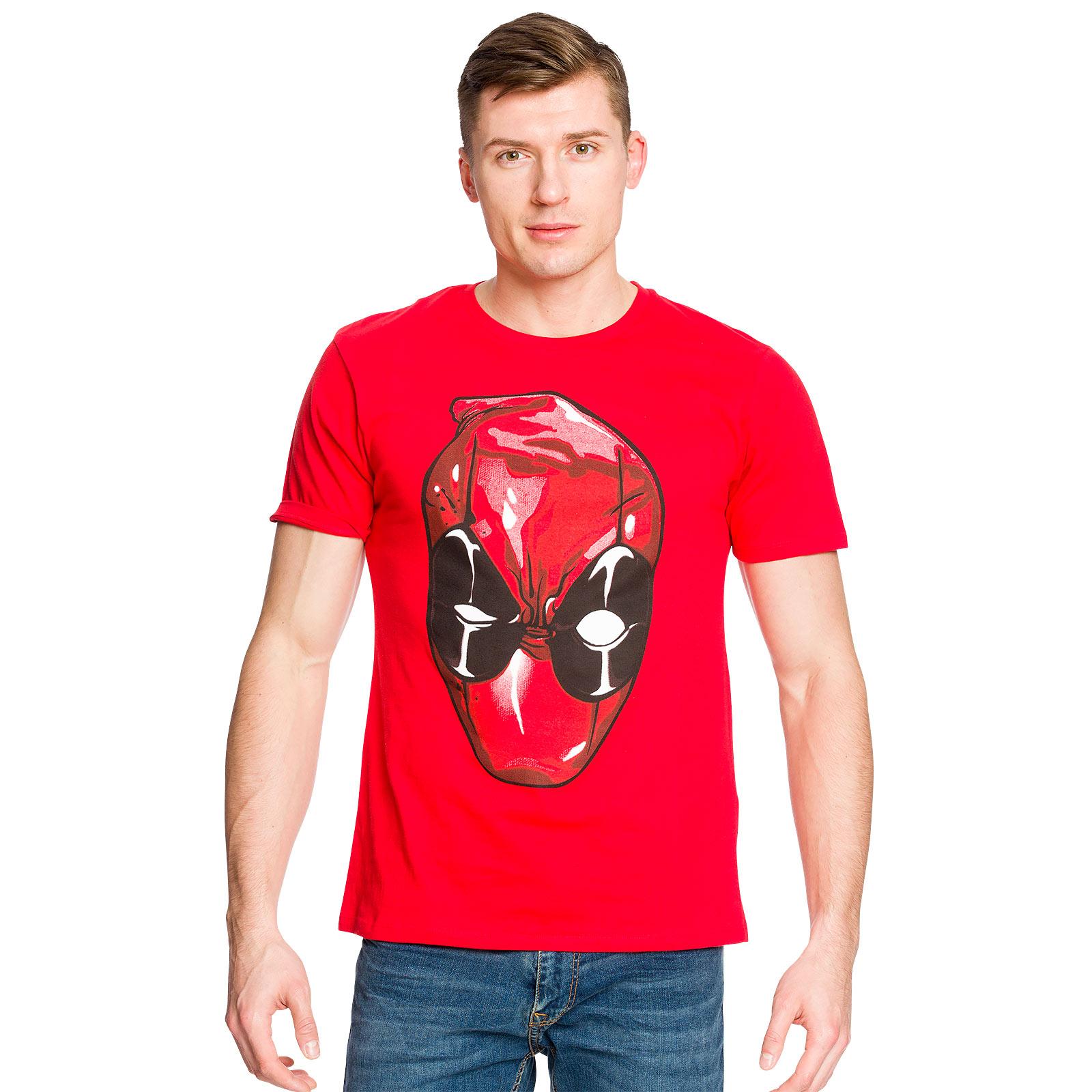 Deadpool - Head T-Shirt rot