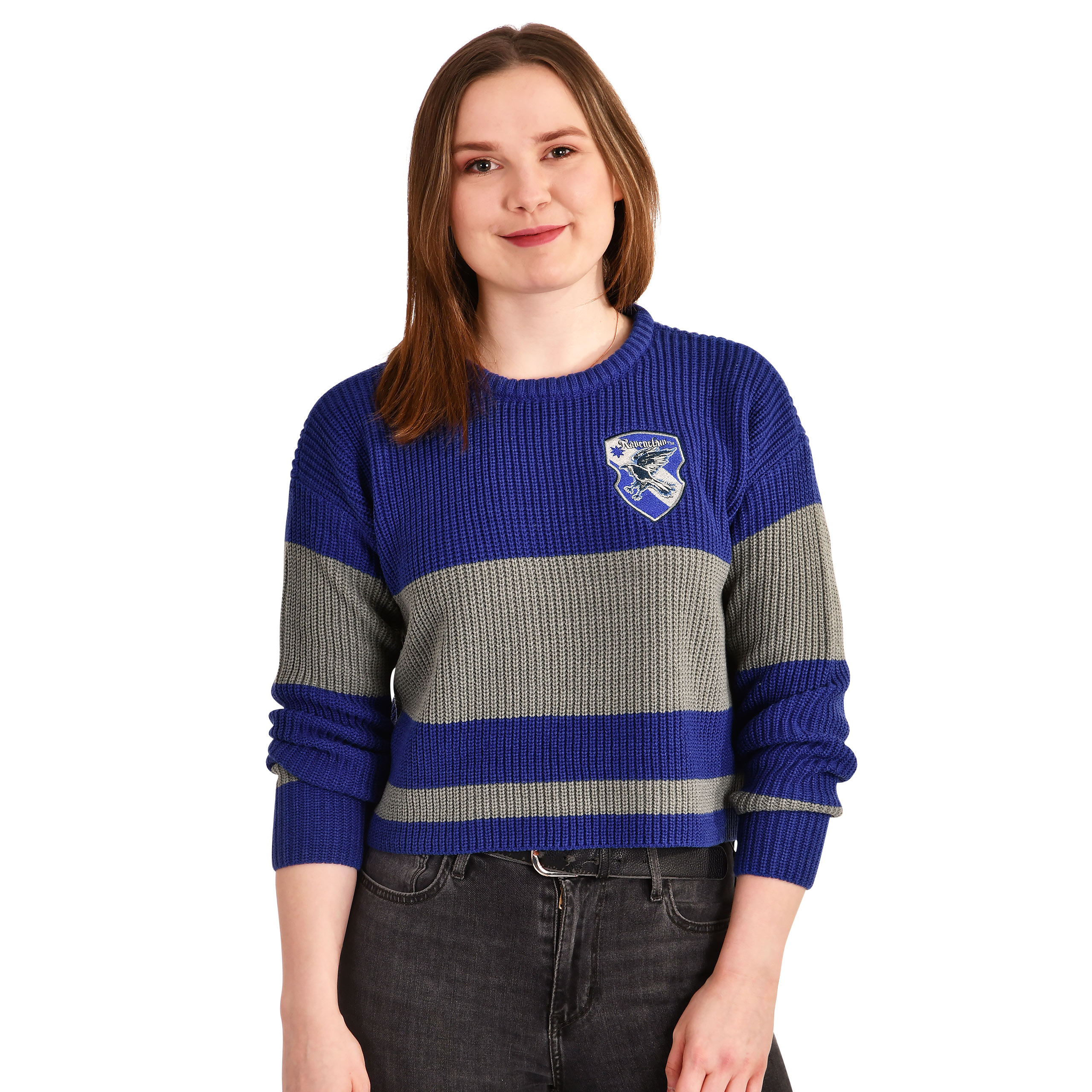 Harry Potter - Ravenclaw Crop Sweater Damen