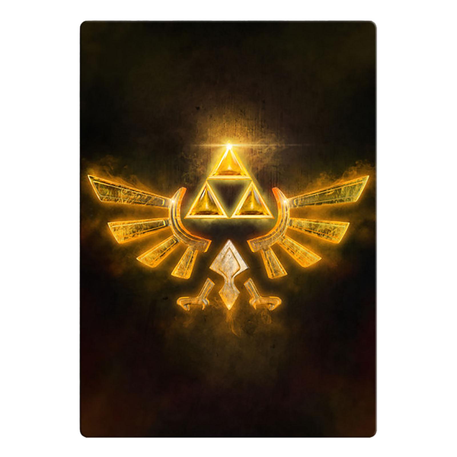 Hyrule Logo Metall Poster für Zelda Fans