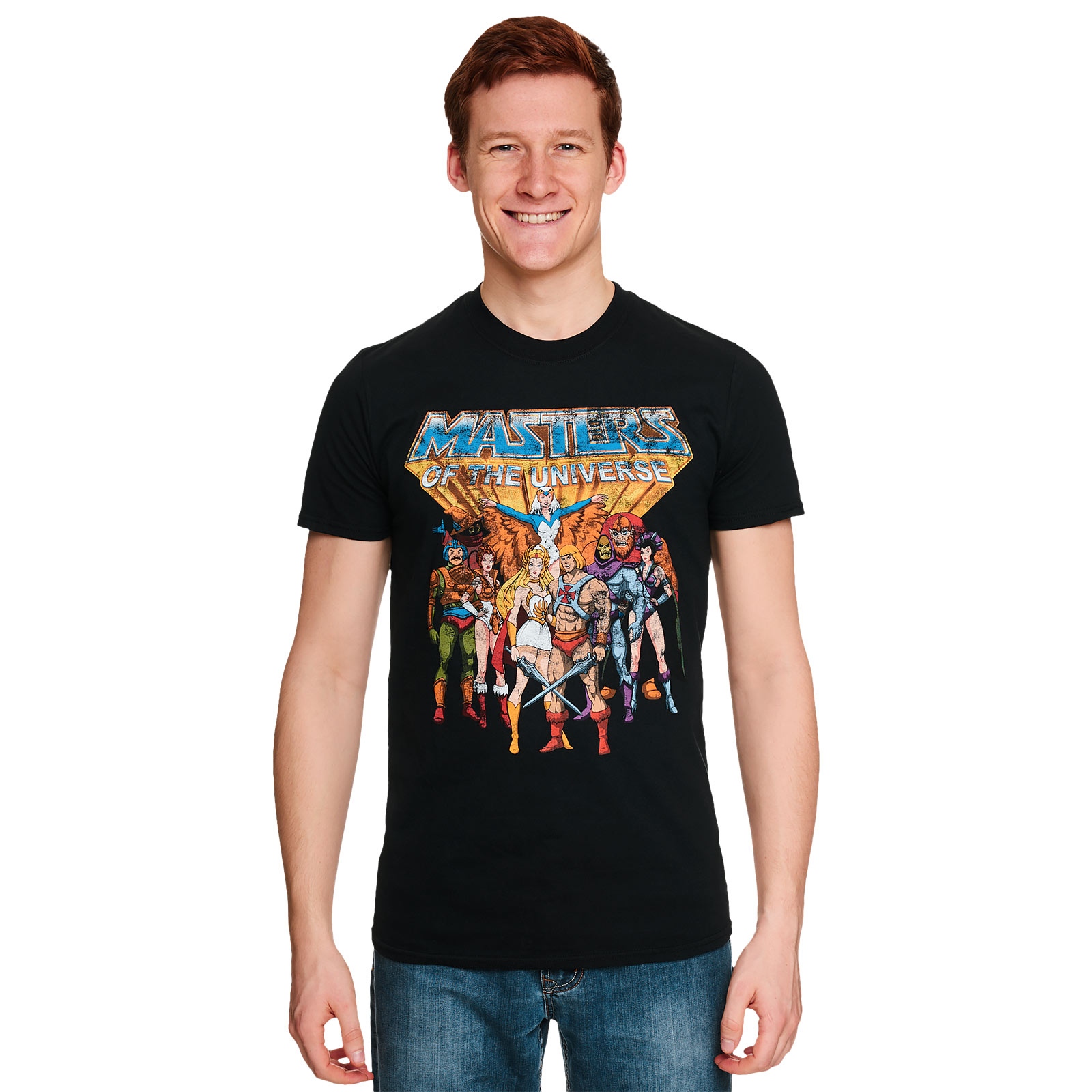 Masters of the Universe - Classic Characters T-Shirt schwarz