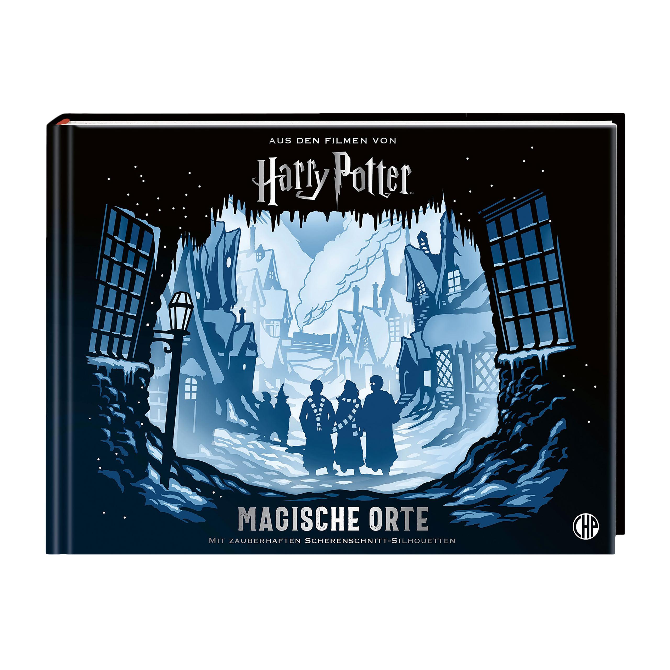 Harry Potter - Magische Orte in Scherenschnitt