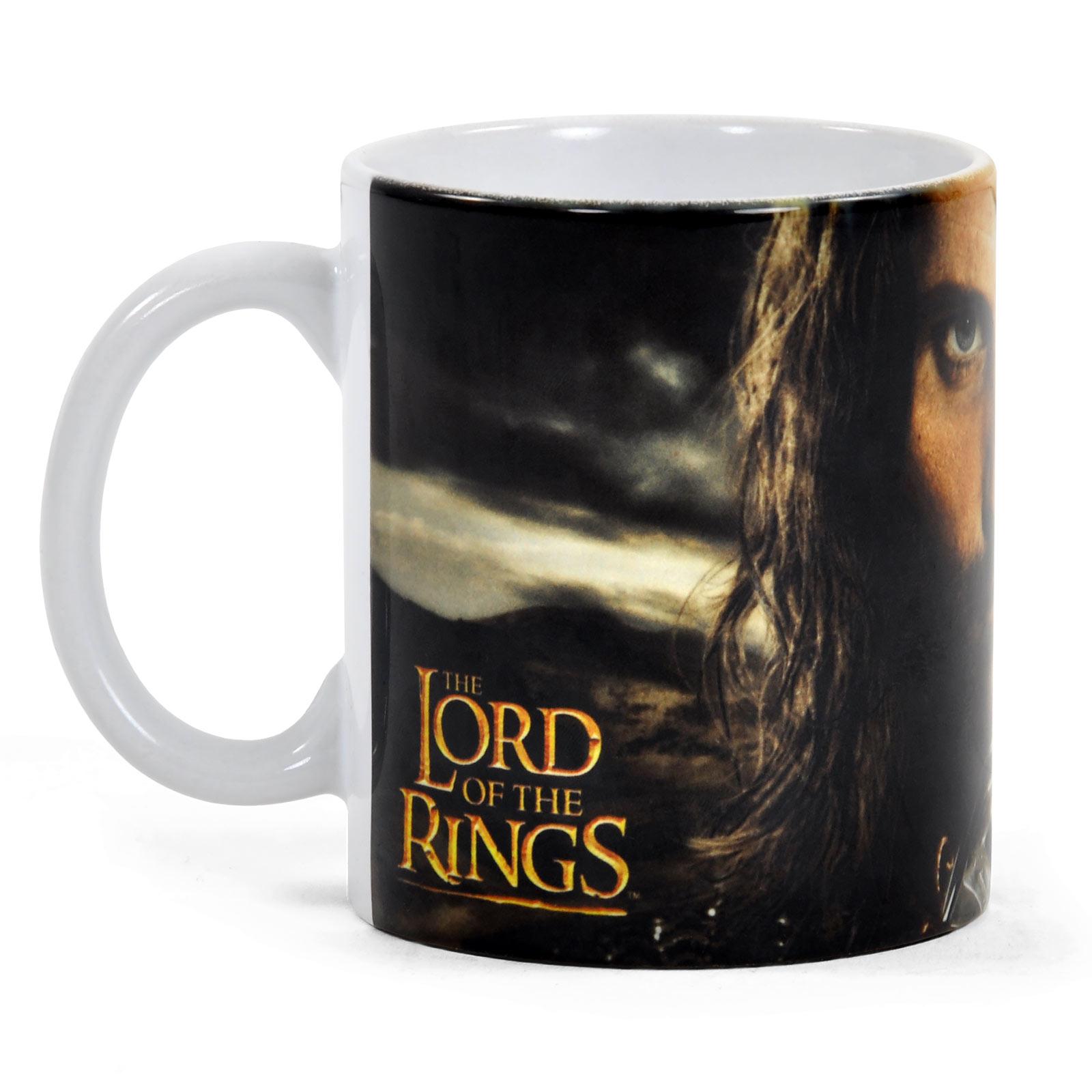 Herr der Ringe - Aragorn Tasse