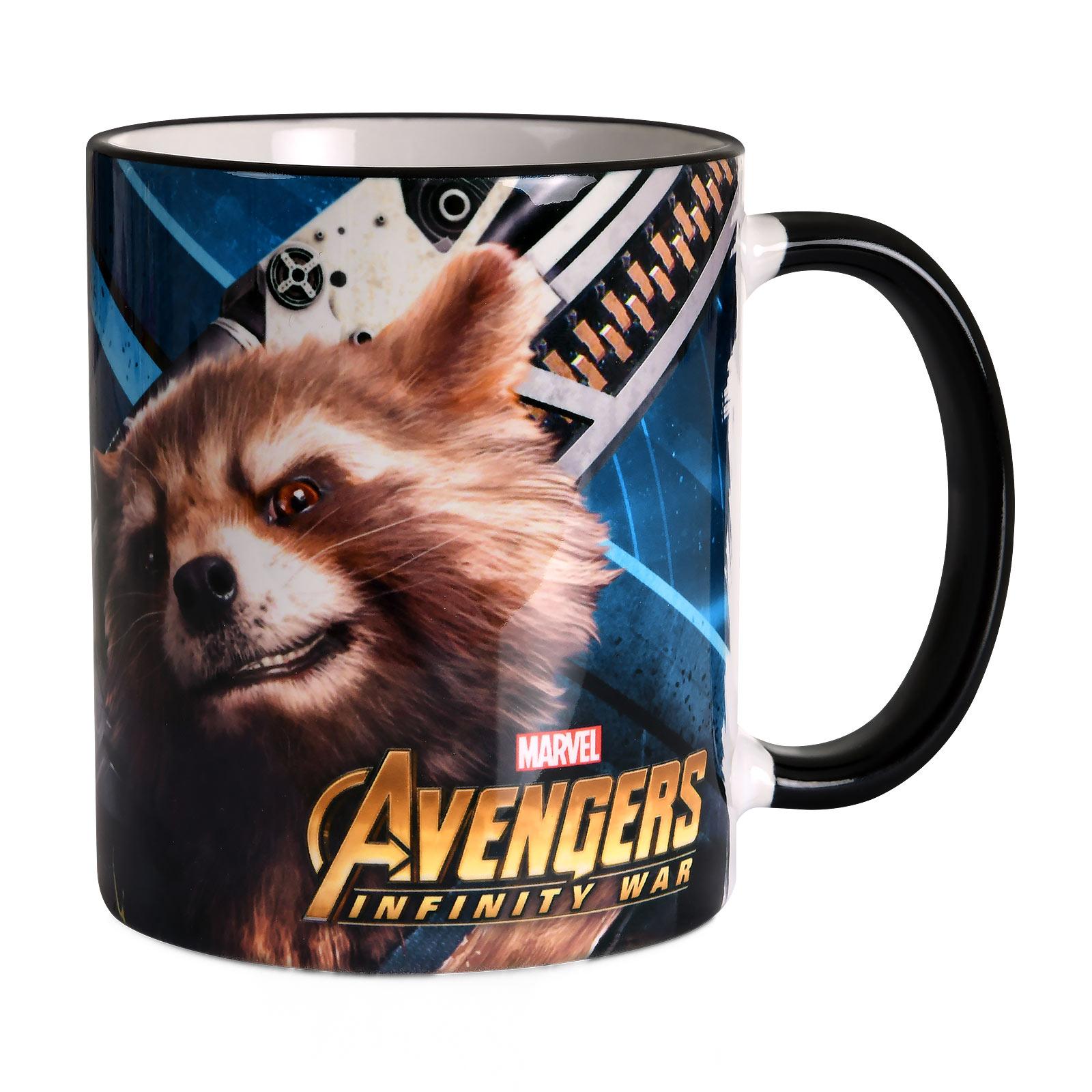 Avengers - Groot und Rocket Tasse