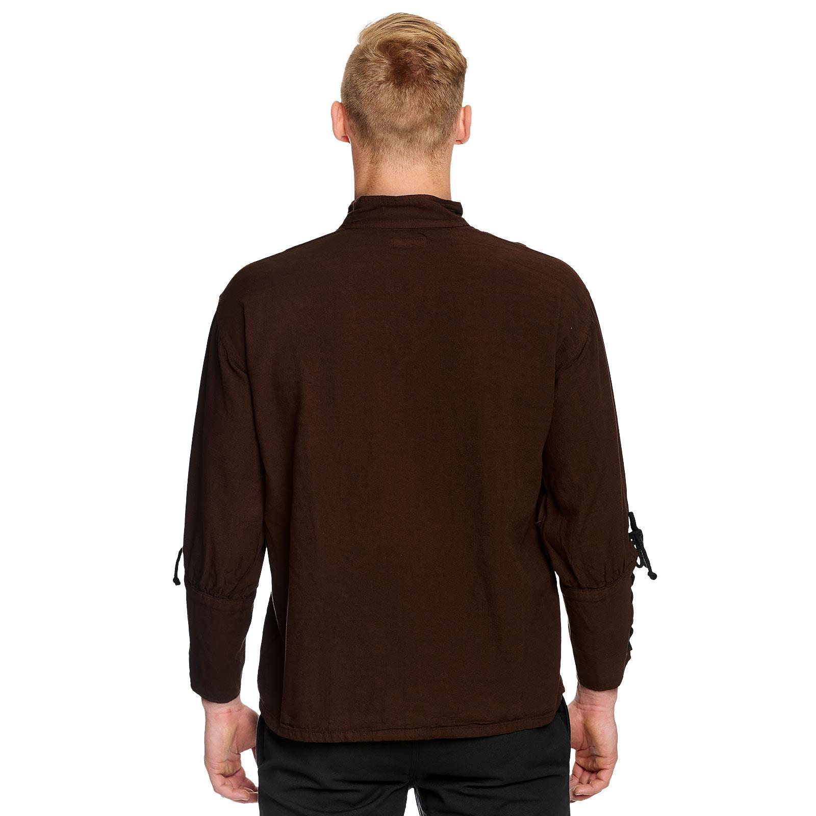 Mittelalter Hemd braun