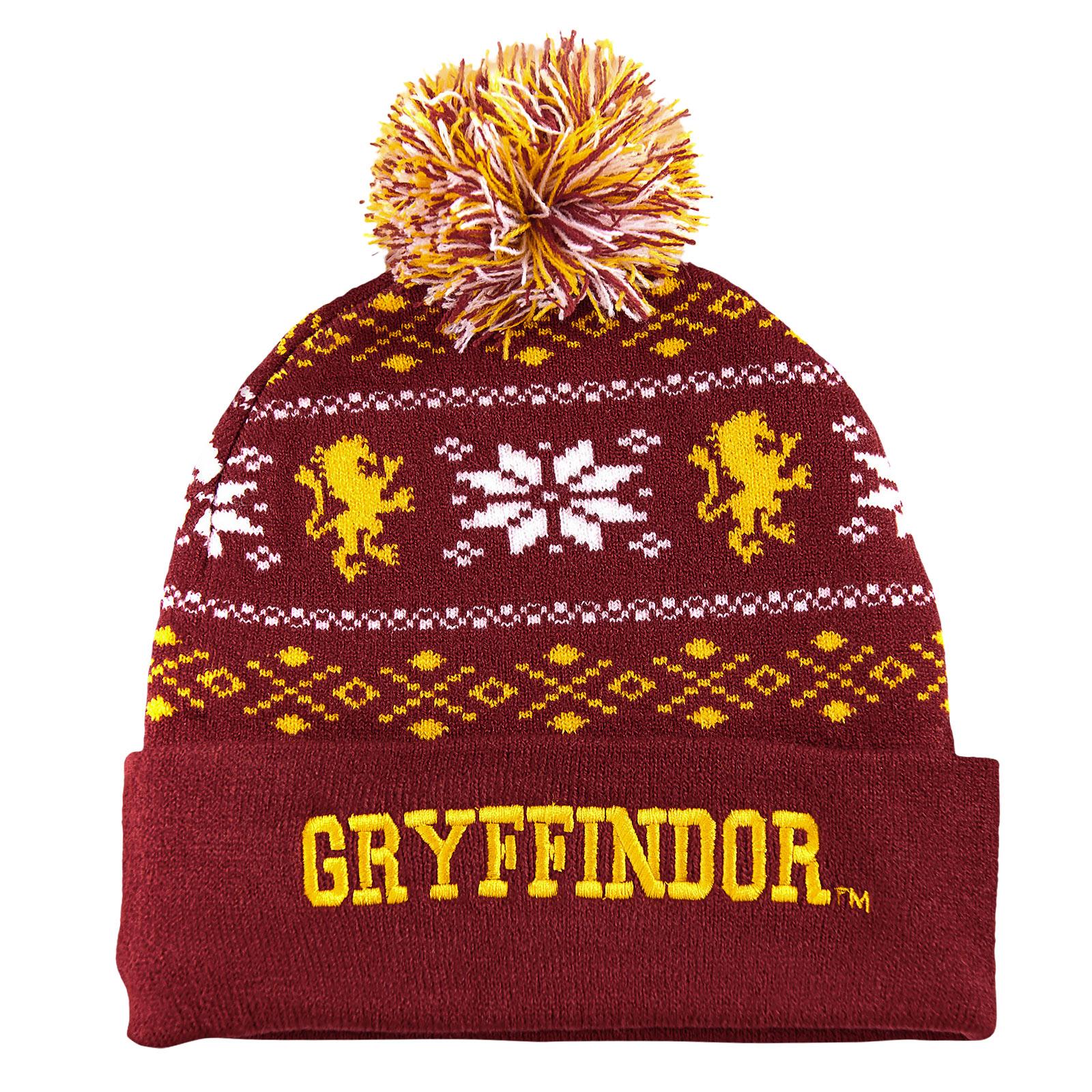 Harry Potter - Gryffindor Norwegermütze rot