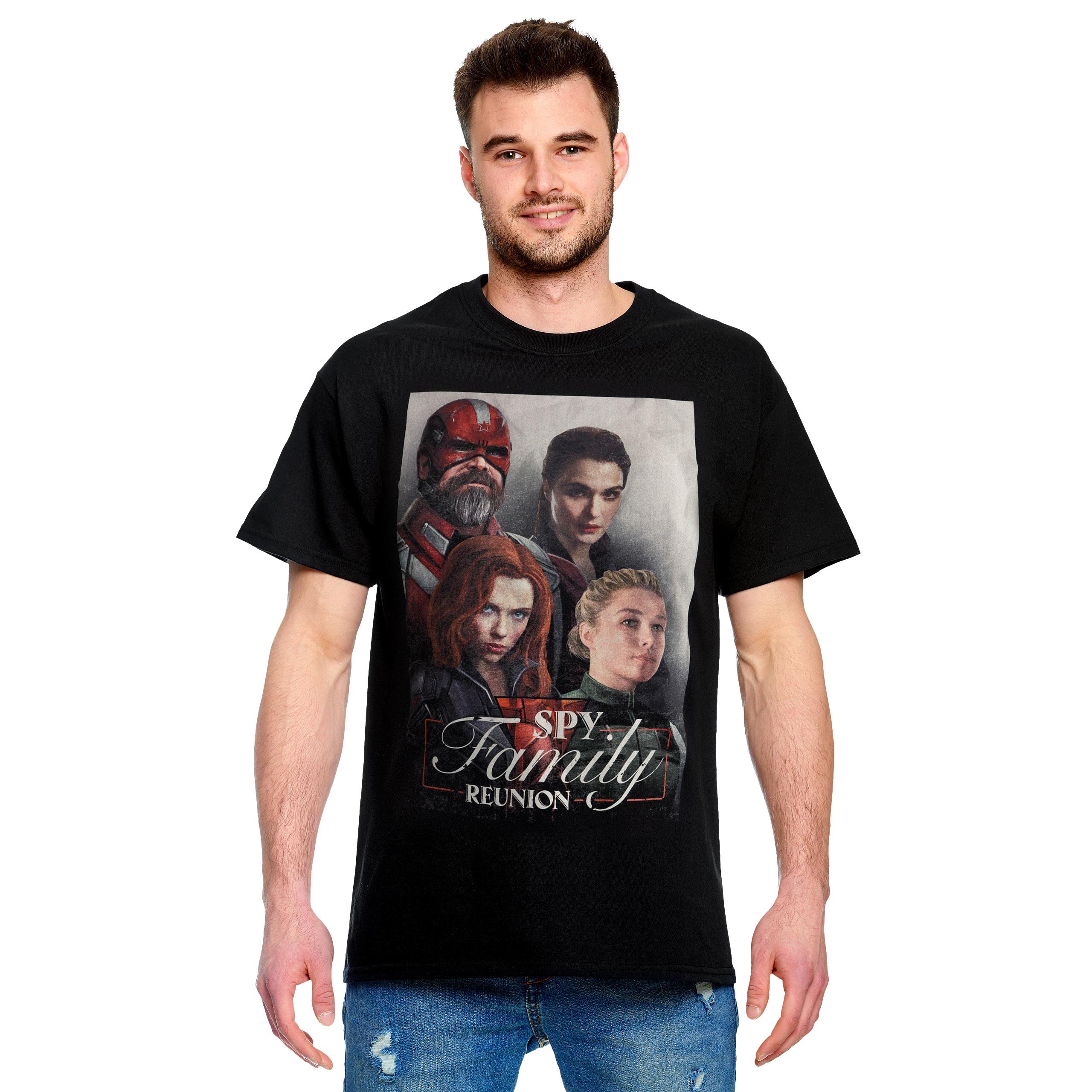 Black Widow - Spy Family Reunion T-Shirt schwarz