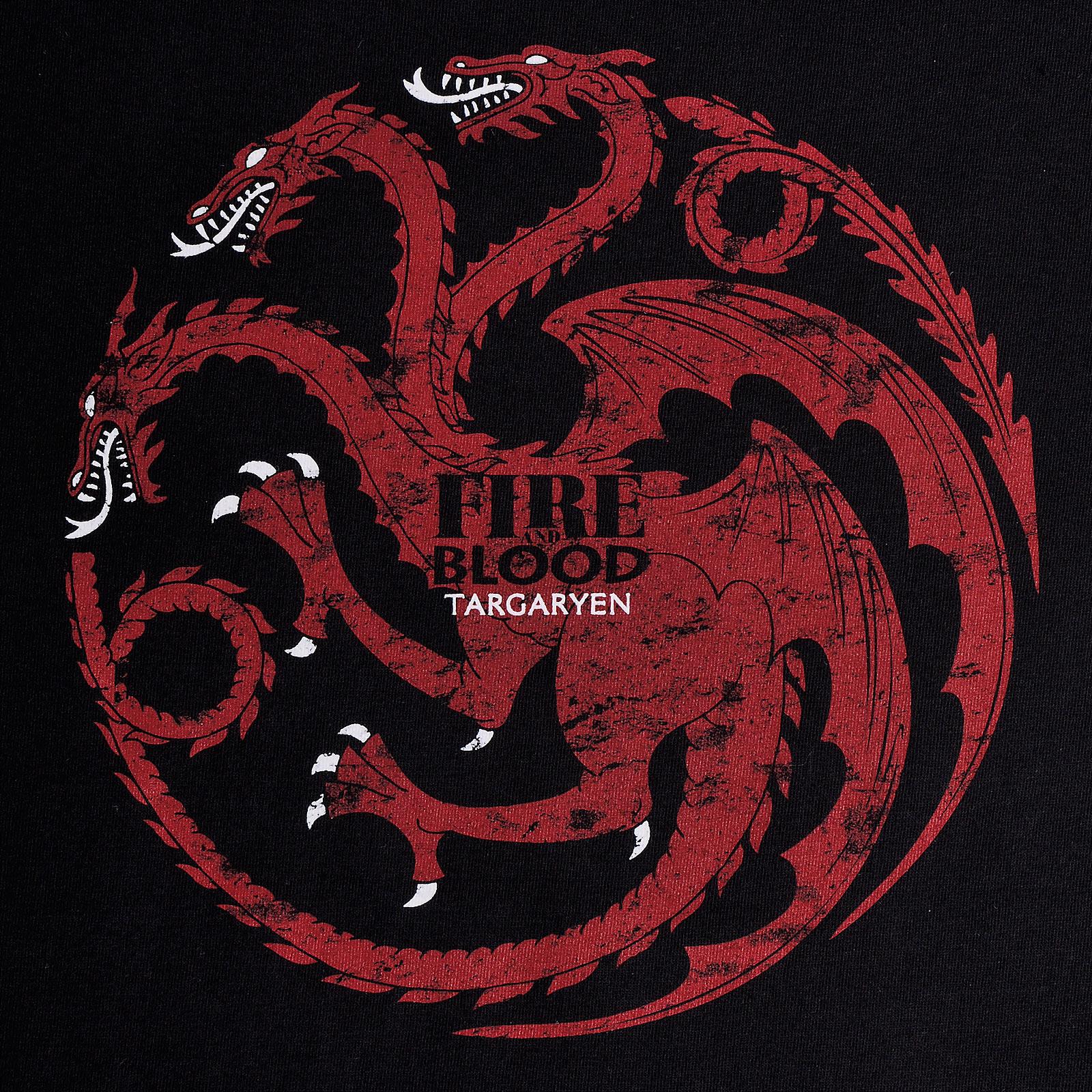 Game of Thrones - House Targaryen Wappen T-Shirt Damen