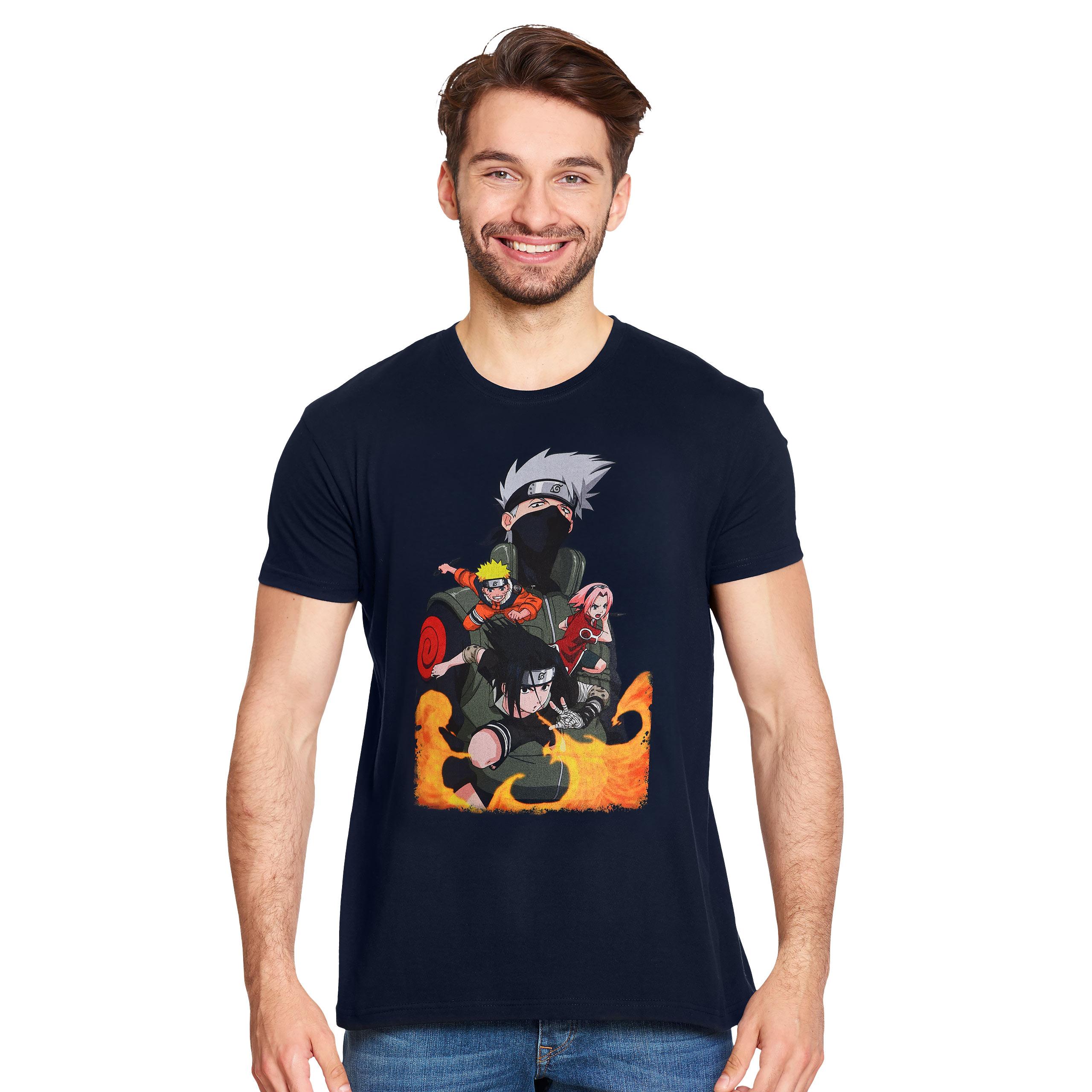 Naruto - Sensei T-Shirt blau