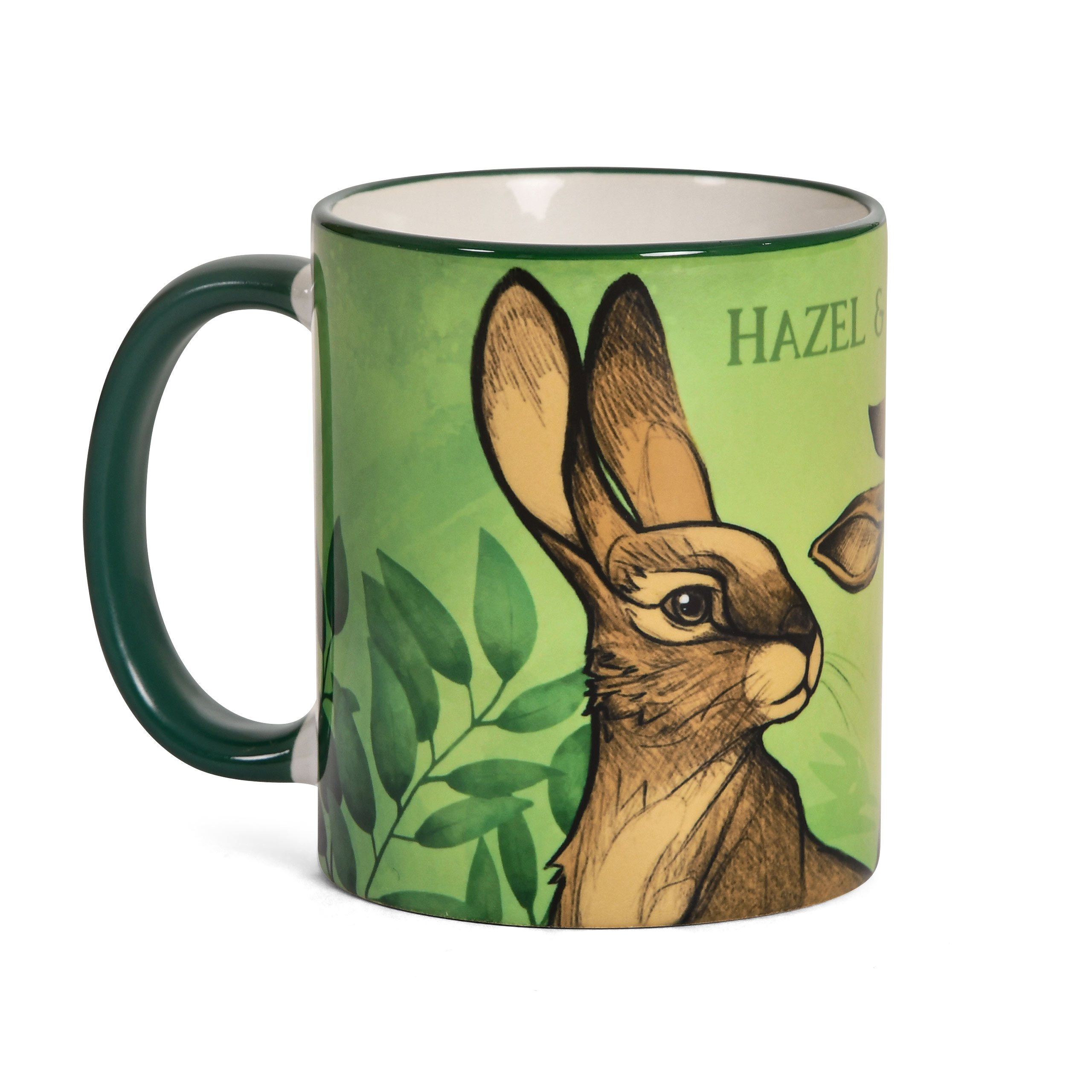 Hazel & Fiver Tasse für Unten am Fluss Fans