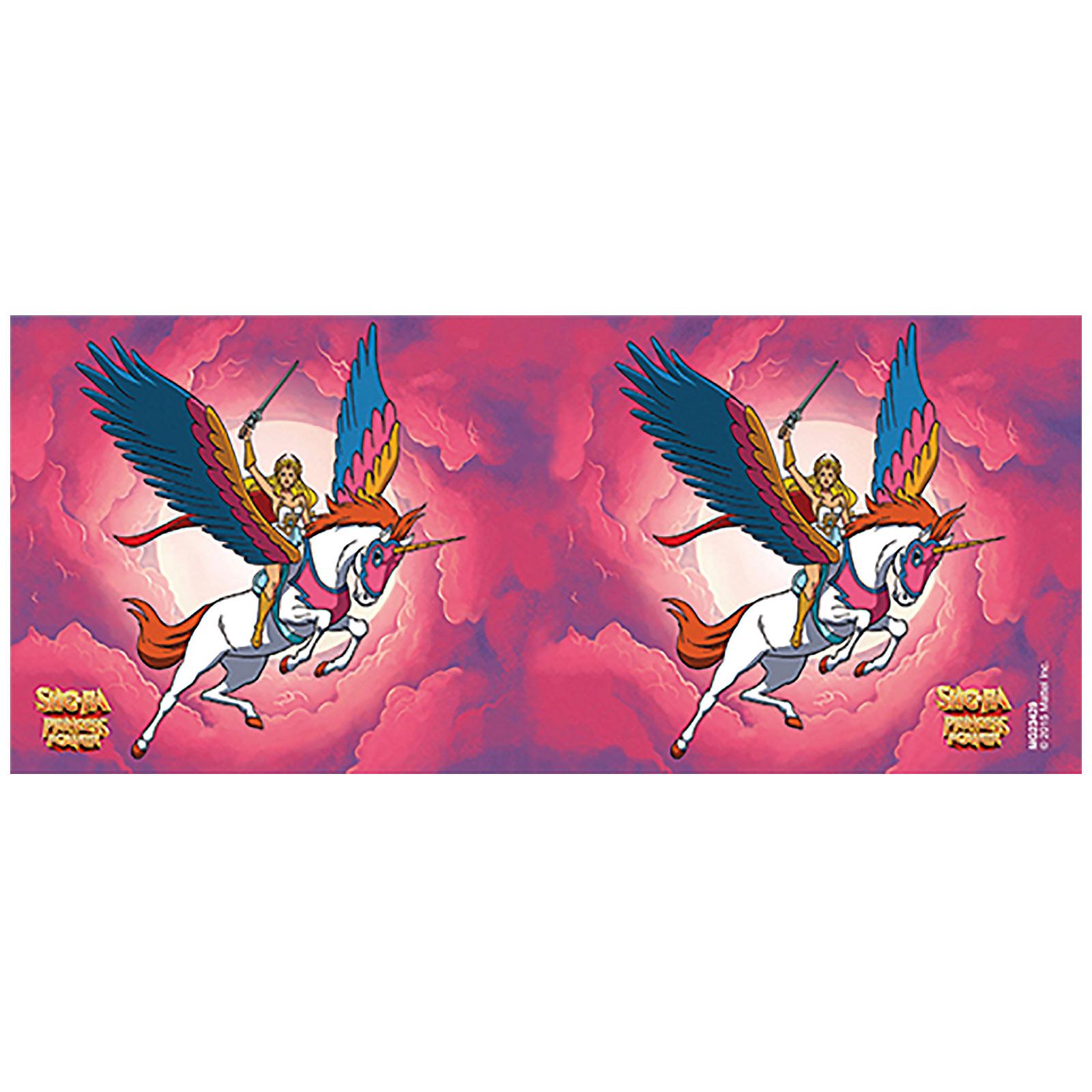 Masters of the Universe - She-Ra mit Swift-Wind Tasse