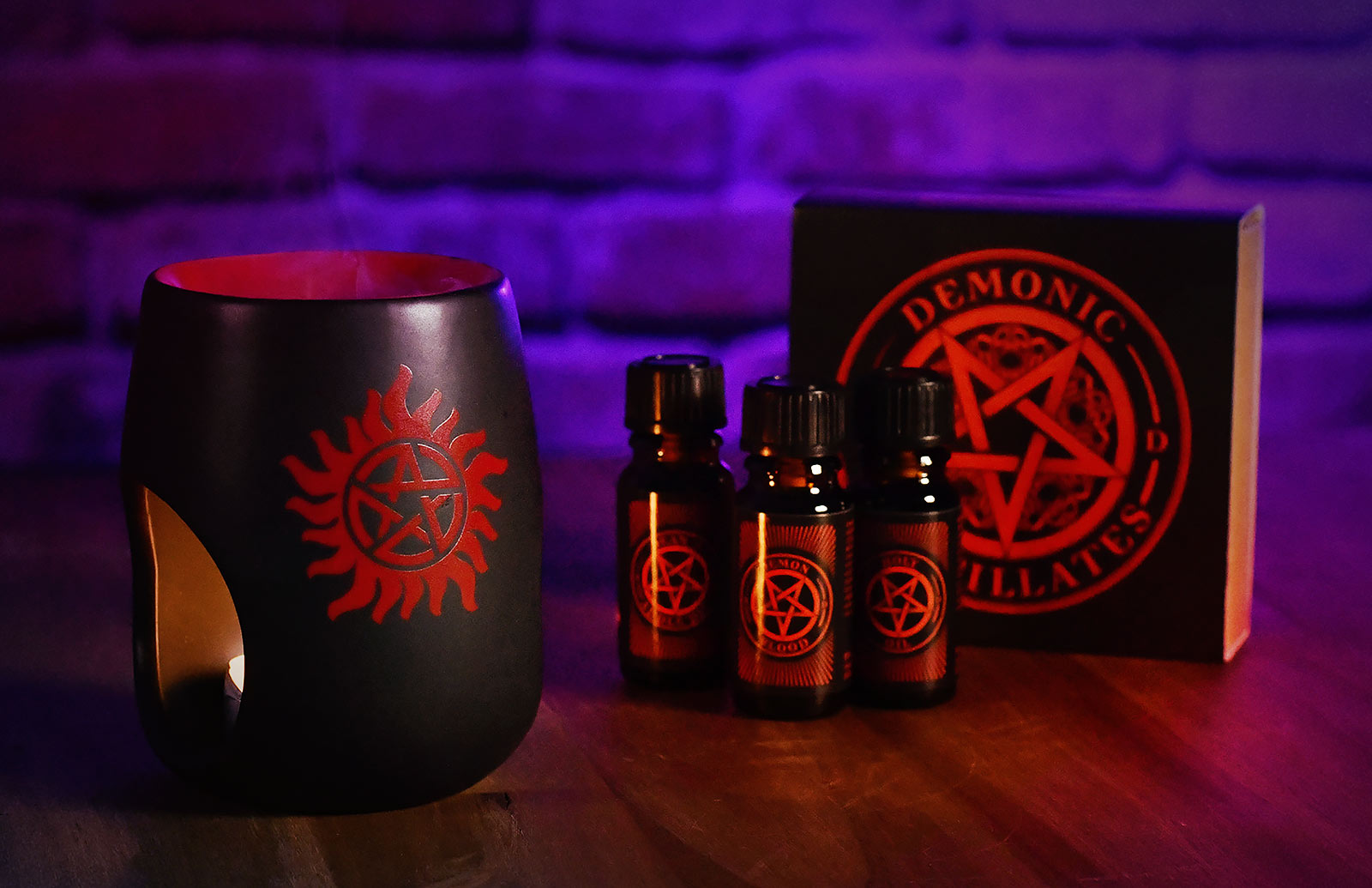 Supernatural - Anti Possession Symbol Duftlampe mit Duftöl
