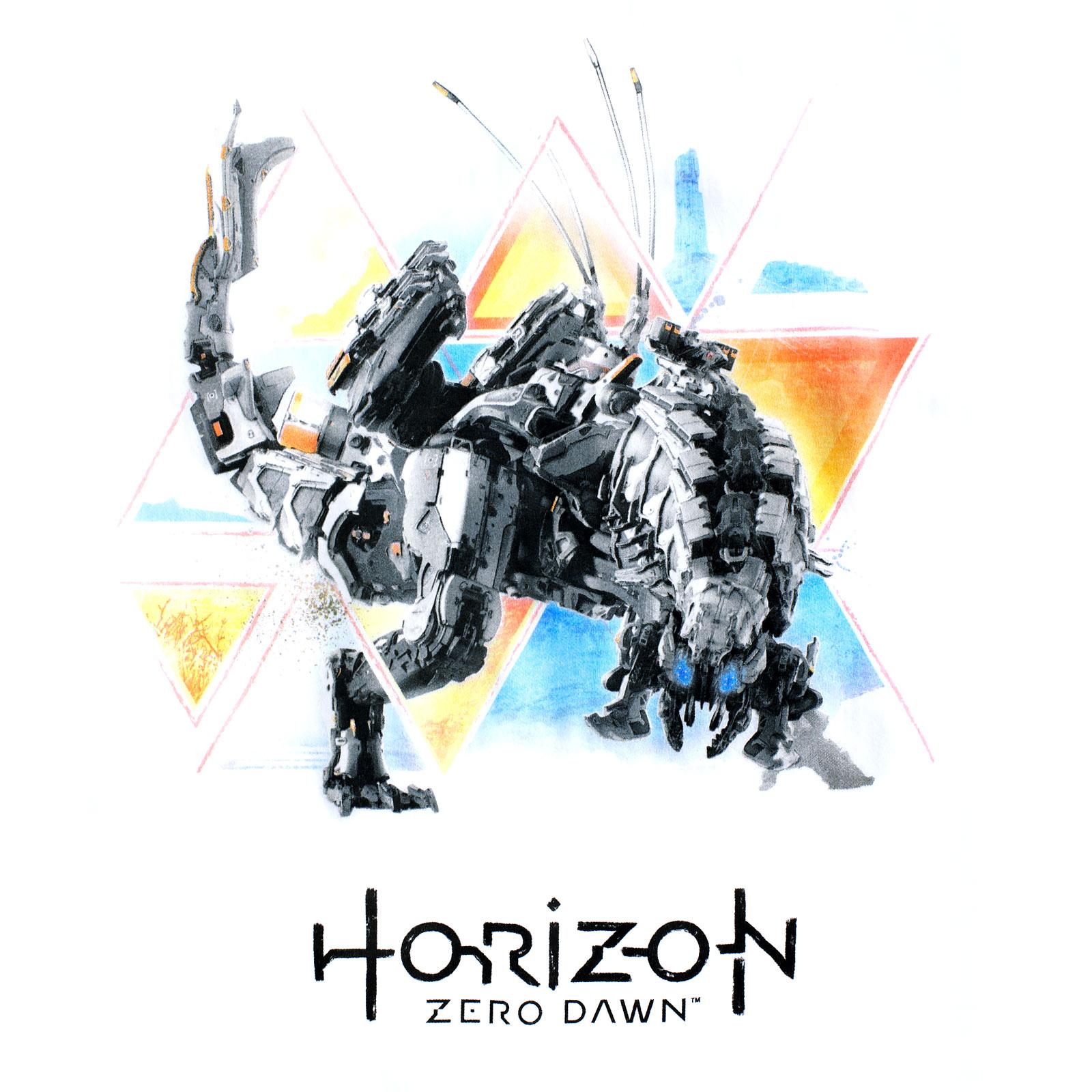 Horizon Zero Dawn - Thunderjaw T-Shirt weiß