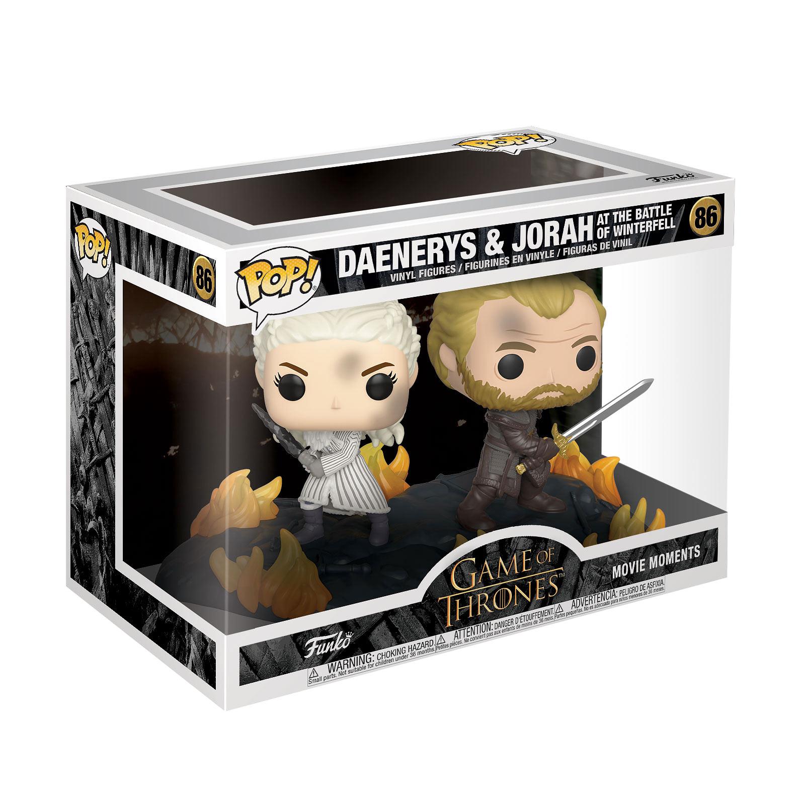 Game of Thrones - Daenerys & Jorah Funko Pop Figur