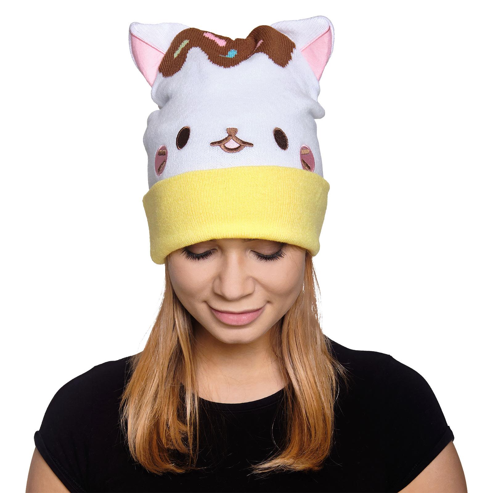 Bananya Katzen Mütze