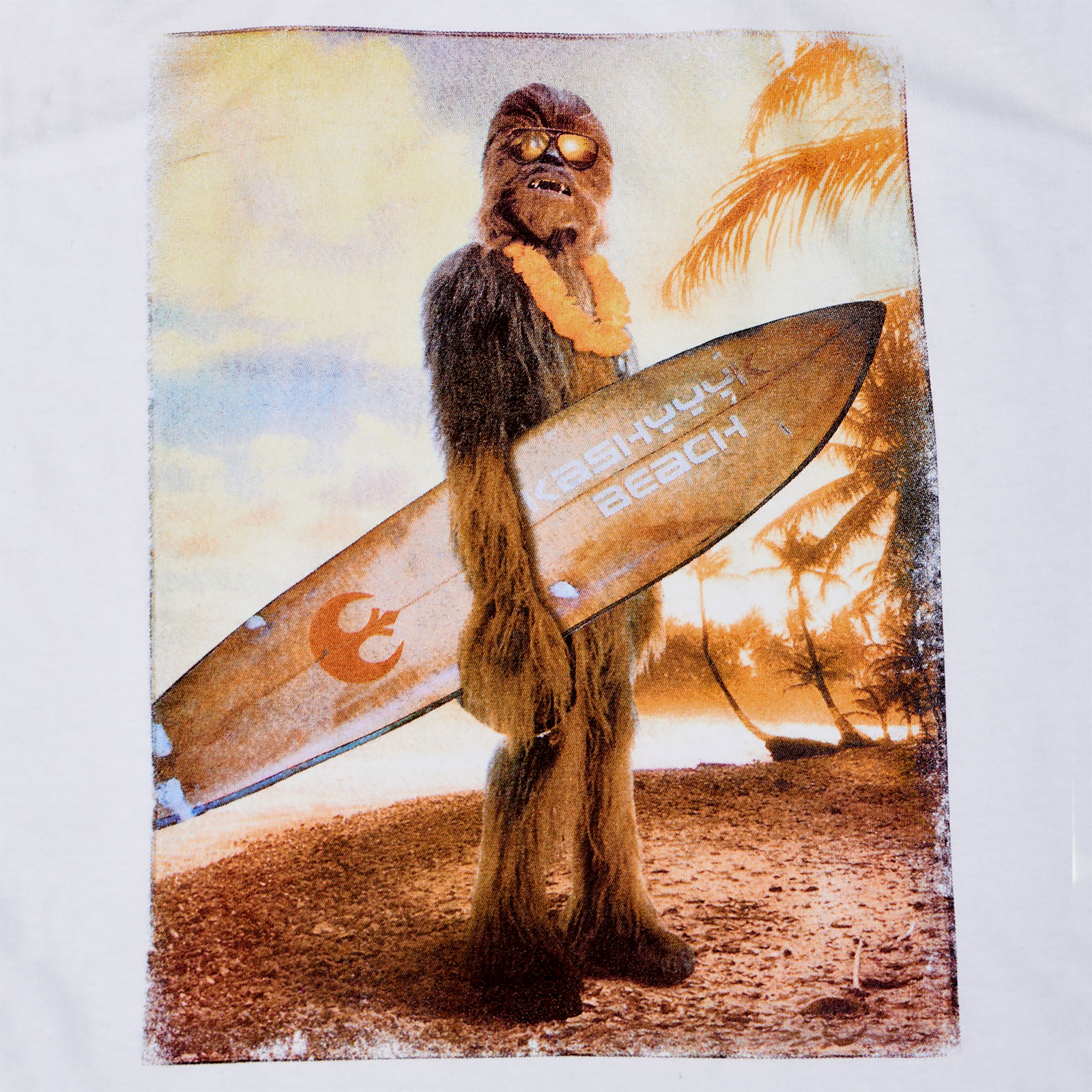 Star Wars - Wookiee Surfer Tank Top weiß