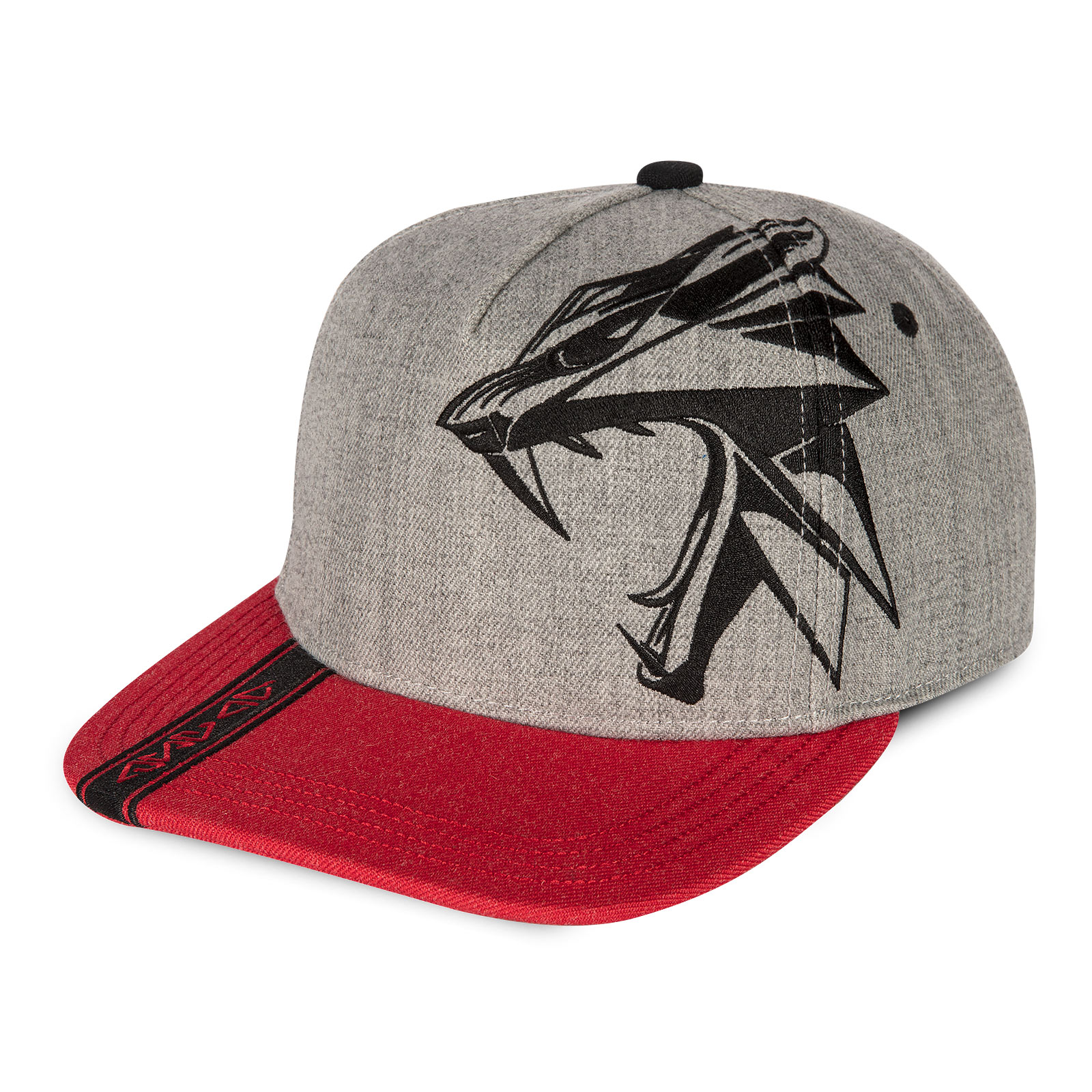 Witcher - Wolf Attack Snapback Cap