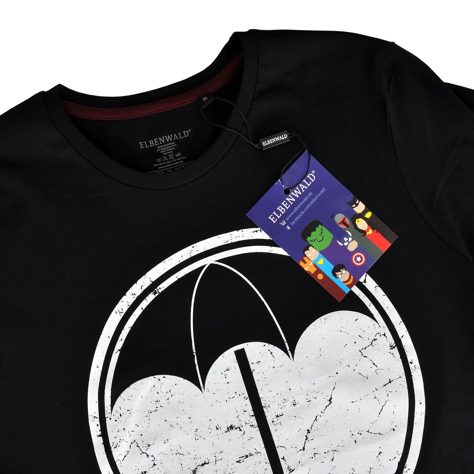 Logo T-Shirt für The Umbrella Academy Fans schwarz