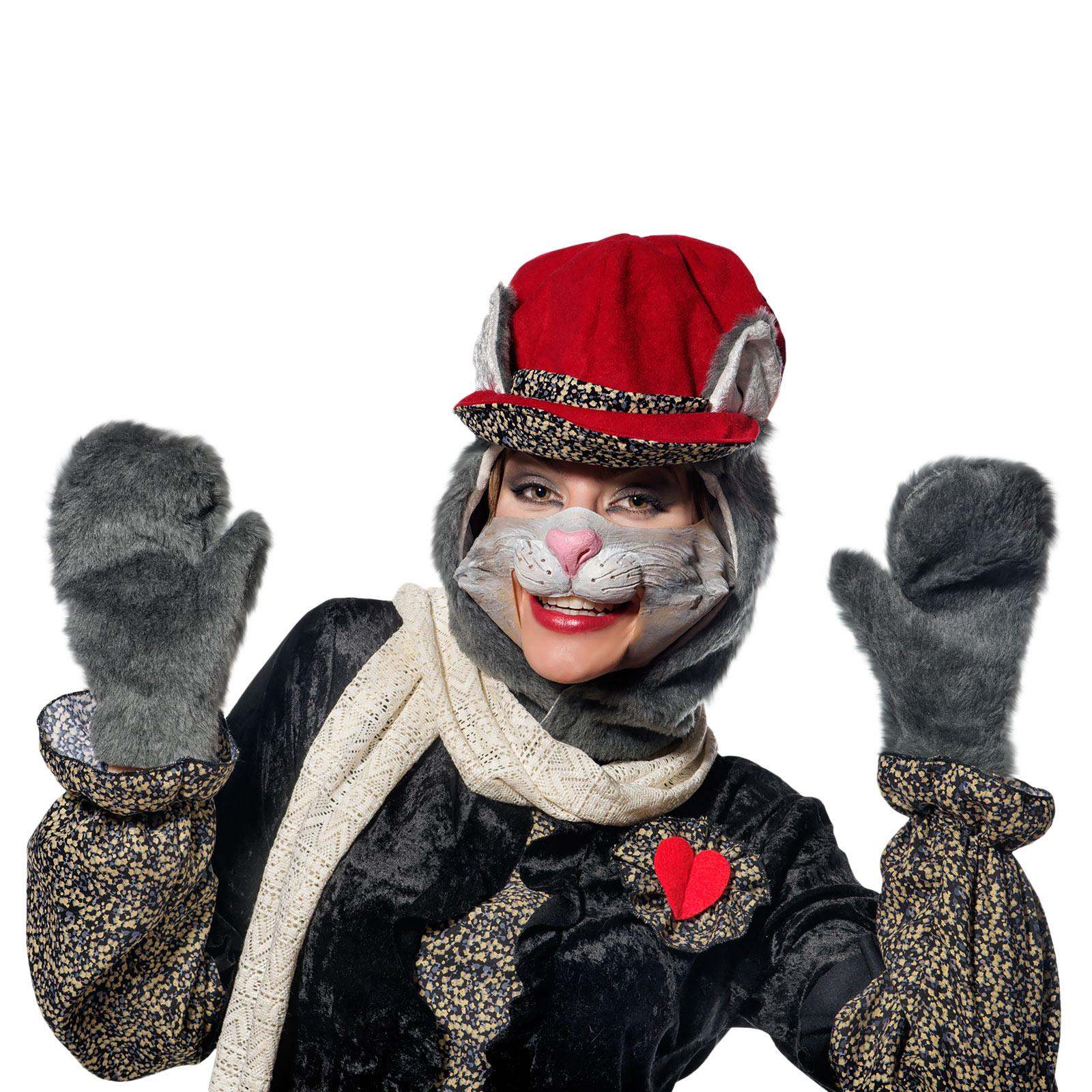 Schmuse Katze Cleo- Tierkostüm Damen