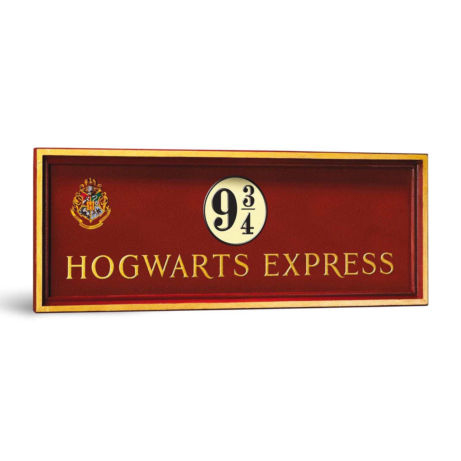 Harry Potter - Gleis 9 3/4 Wandbild