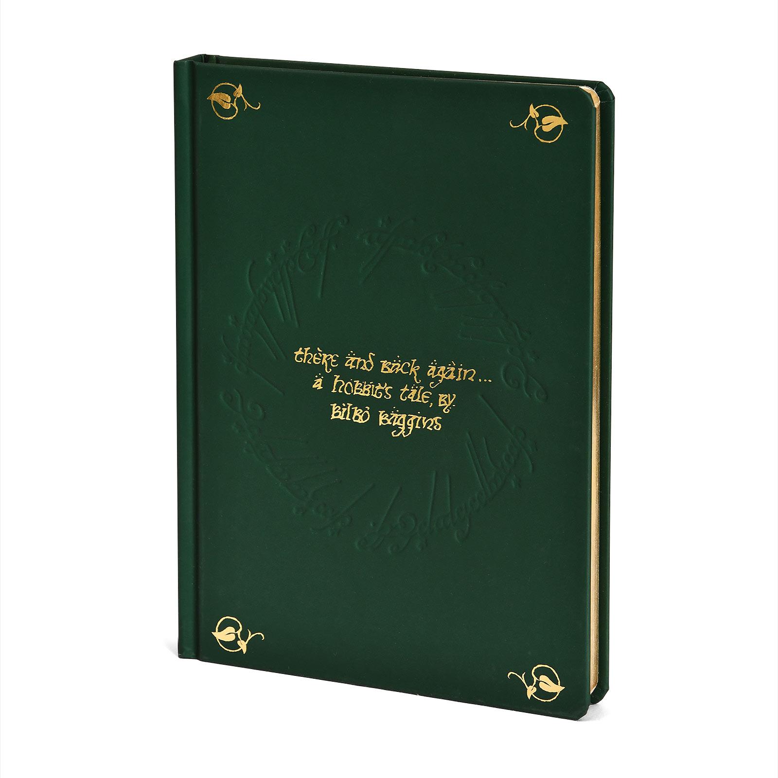Herr der Ringe - Bilbo Der Hobbit Notizbuch A5