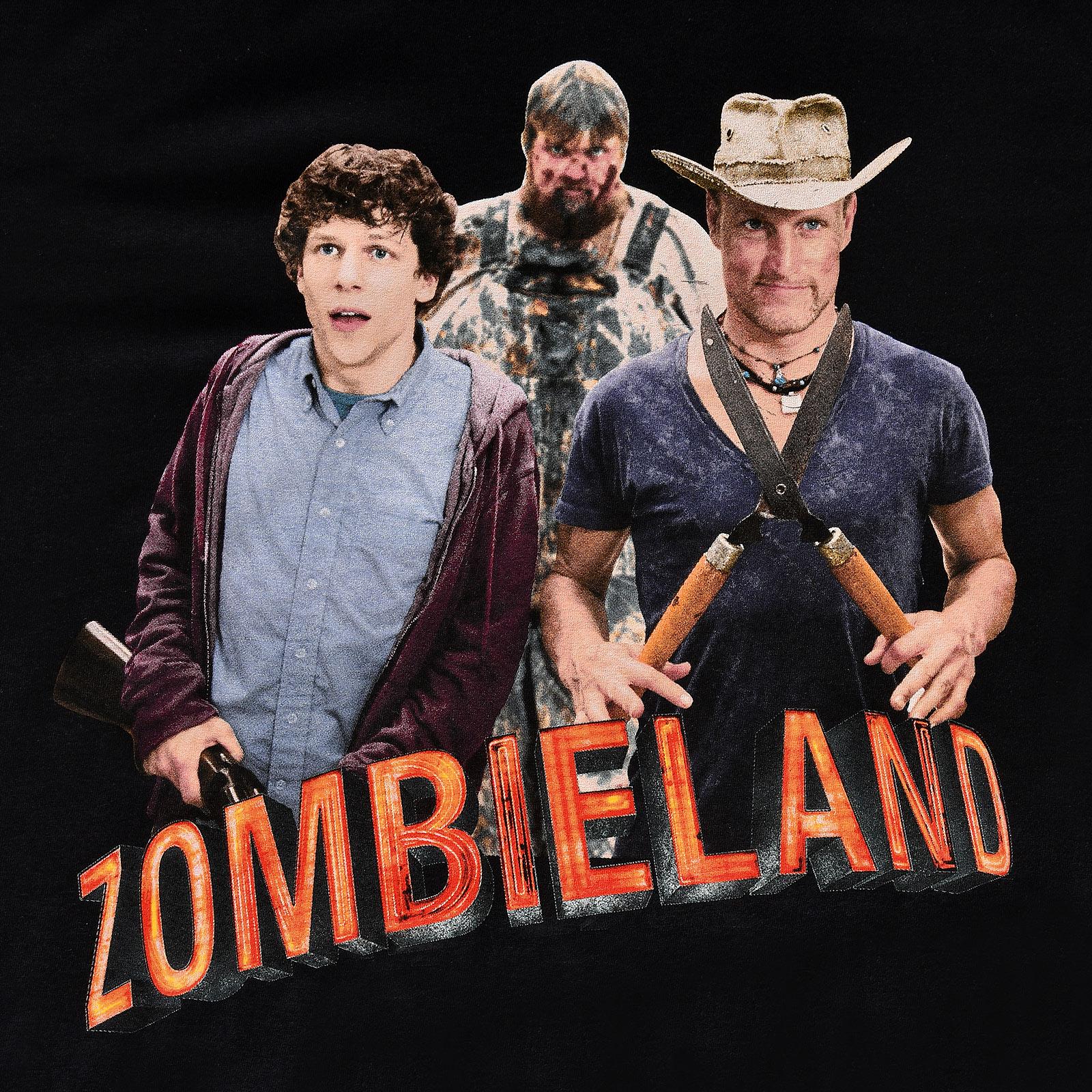 Zombieland - Group T-Shirt schwarz