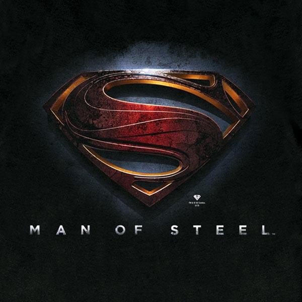 Superman - Man of Steel Logo T-Shirt